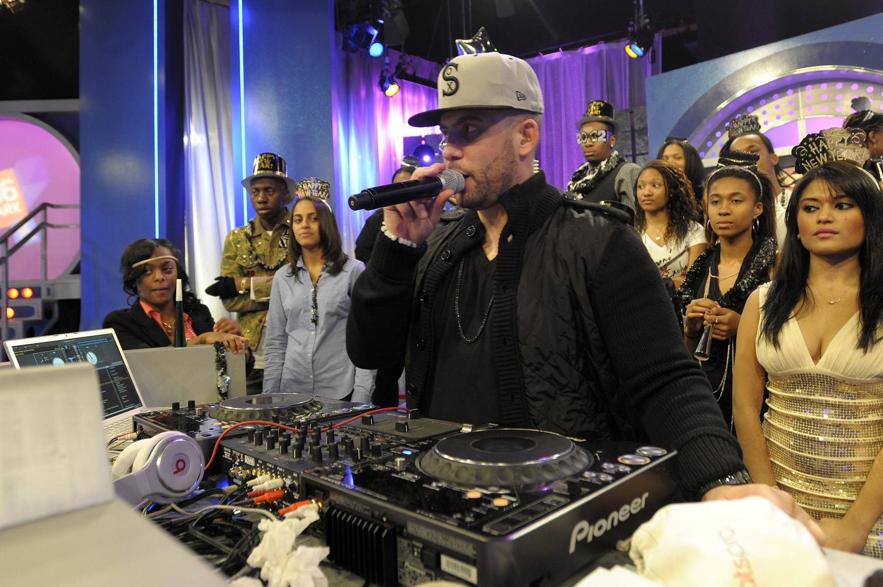 12. DJ Drama - DJ Drama is undoubtedly the most powerful mixtape mogul of the new millennium. His seminal early-2000s Gangsta Grillz releases helped propel Atlanta and the city's trap-rap movement to its dominant position in hip hop, and even attracted the attention of the Feds, who famously raided Drama's Atlanta offices and arrested him on bootlegging charges in 2007. Regardless, rap stars both new and old, Dirty South or not, still turn to Drama and his mixtapes to up their buzz level. (Photo: John Ricard / BET)