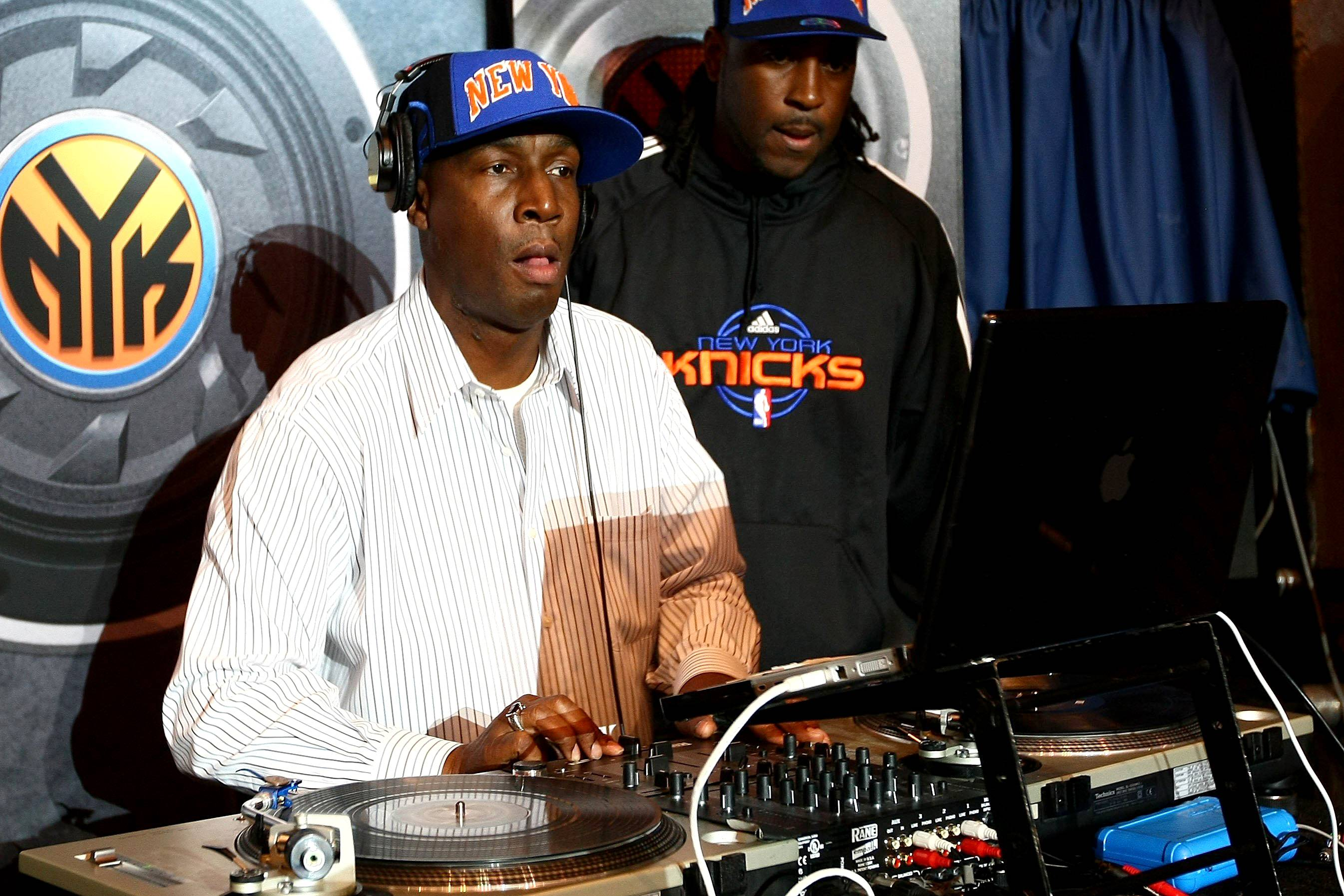 """1. Grandmaster Flash - Grandmaster Flash has left an indelible, impossible-to-miss mark on hip hop, popular music and DJing. A key party-rocker in rap's nascent South Bronx days, Flash is credited with inventing the cross-fader using discarded electronic parts found in a local junkyard. Later, as leader of Grandmaster Flash & the Furious Five, he was behind two seminal records: """"The Adventures of Grandmaster Flash on the Wheels of Steel,"""" an instrumental turntable solo that marked the first time scratching was recorded on wax; and """"The Message,"""" the hugely influential prototype for all socio-political rap to follow. Flash and the Furious Five were the first hip hop group to be inducted into the Rock 'N Roll Hall of Fame, in 2007. (Photo: Chris McGrath/Getty Images)"""