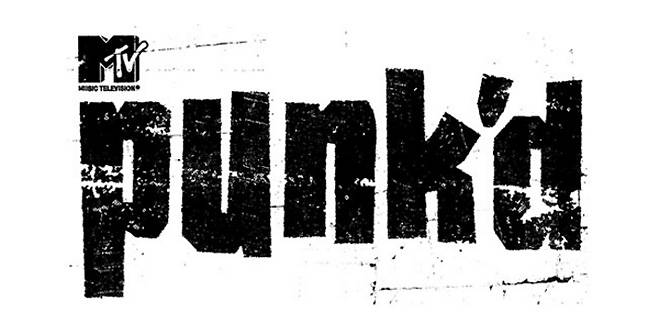 Punk'd tv show logo|x-default