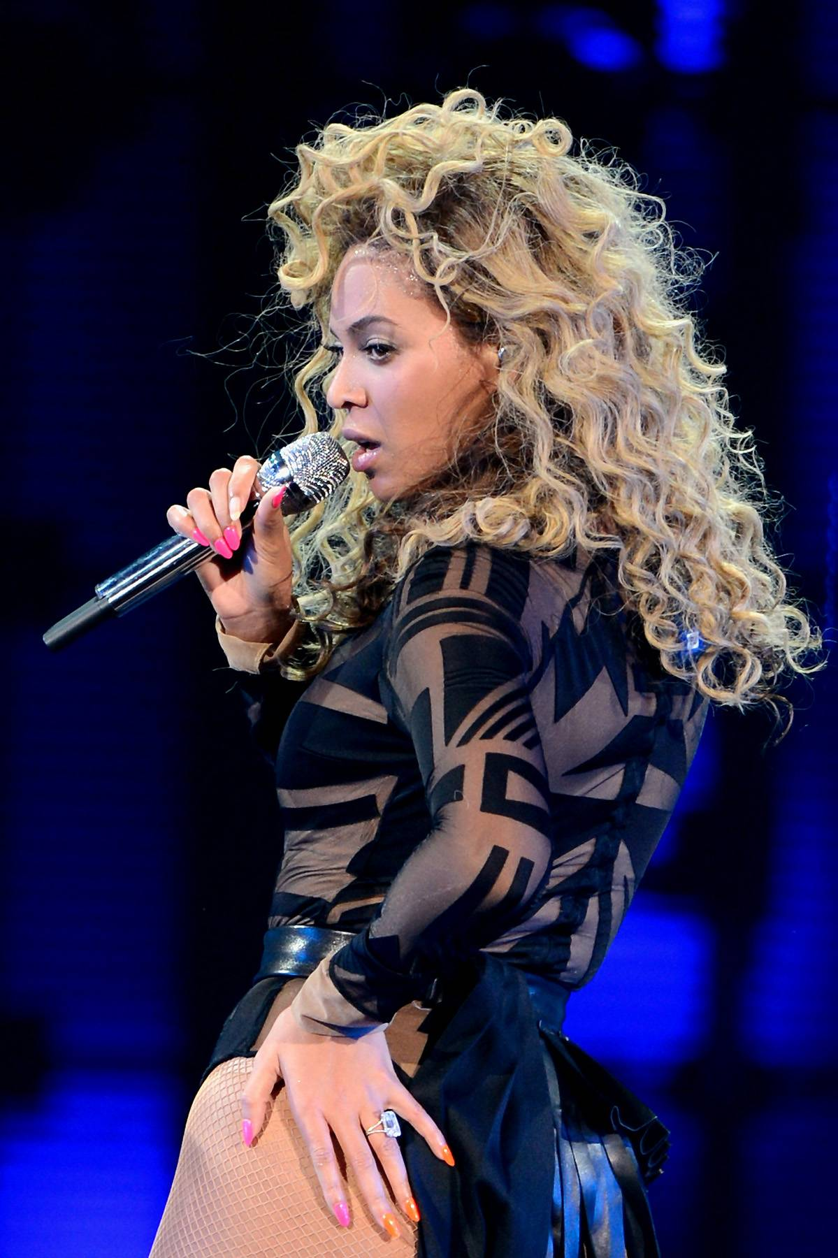"""Beyonce - Competing in the same category as Baker, Beyonc? is up for Best Traditional R&B Performance with her single """"Love On Top."""""""