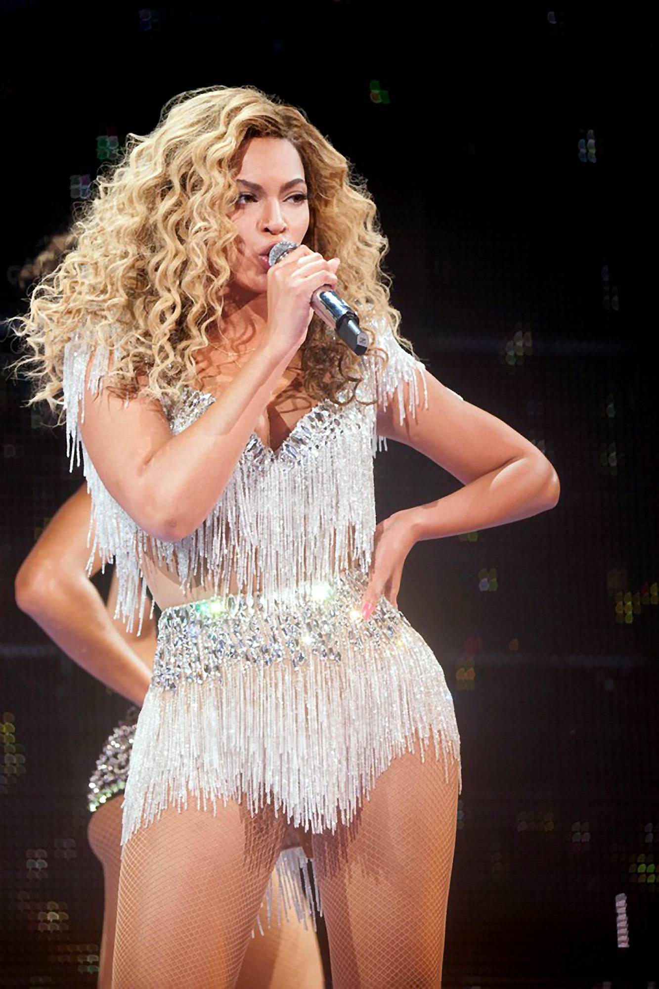 """Beyonc?, """"Freakum Dress"""" - Listen to Beyonc?: Fashion is a weapon. With this 2009 single she shows the power of """"pulling out the big guns"""" ? also known as putting on a small, tight dress.   (Photo: AP Photo/Parkwood Entertainment, Robin Harper)"""
