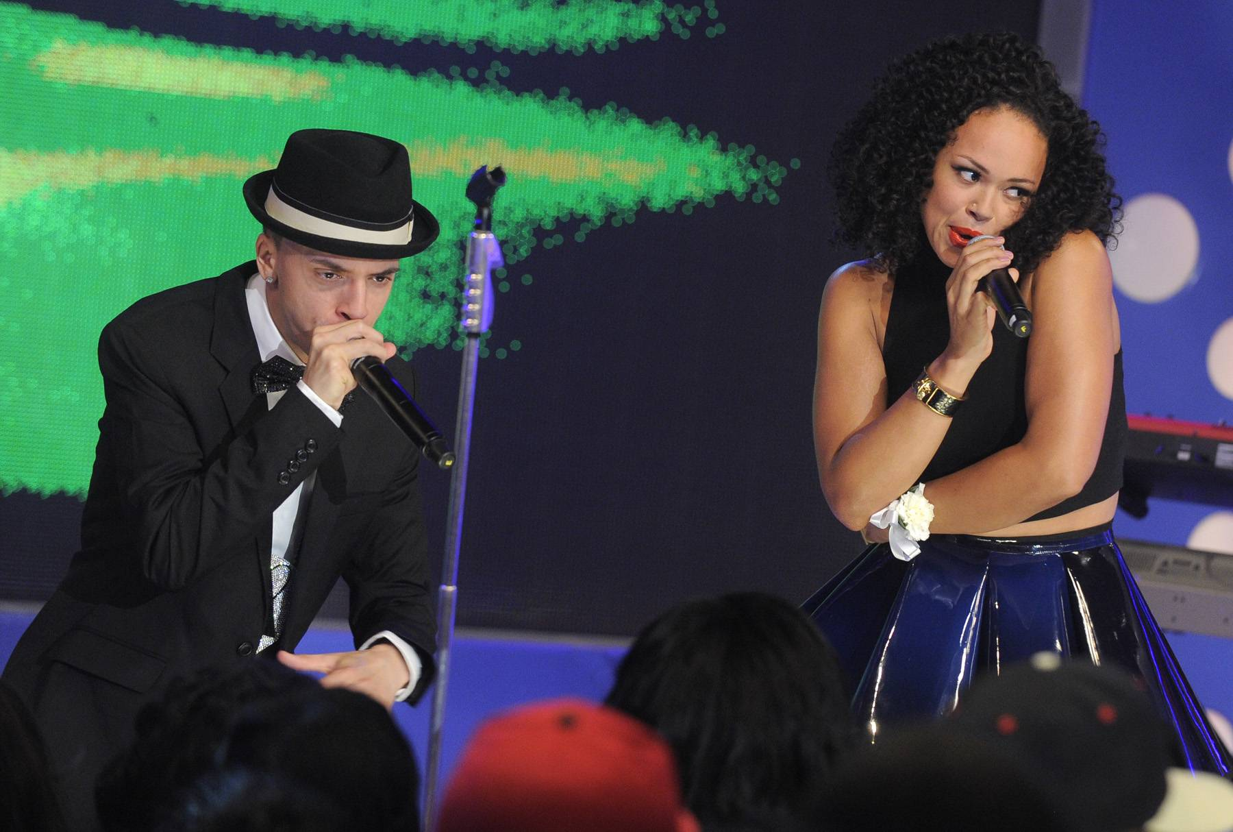Now It's a Duet - Elle Varner performs at 106 & Park, May 25, 2012. (Photo: John Ricard / BET)