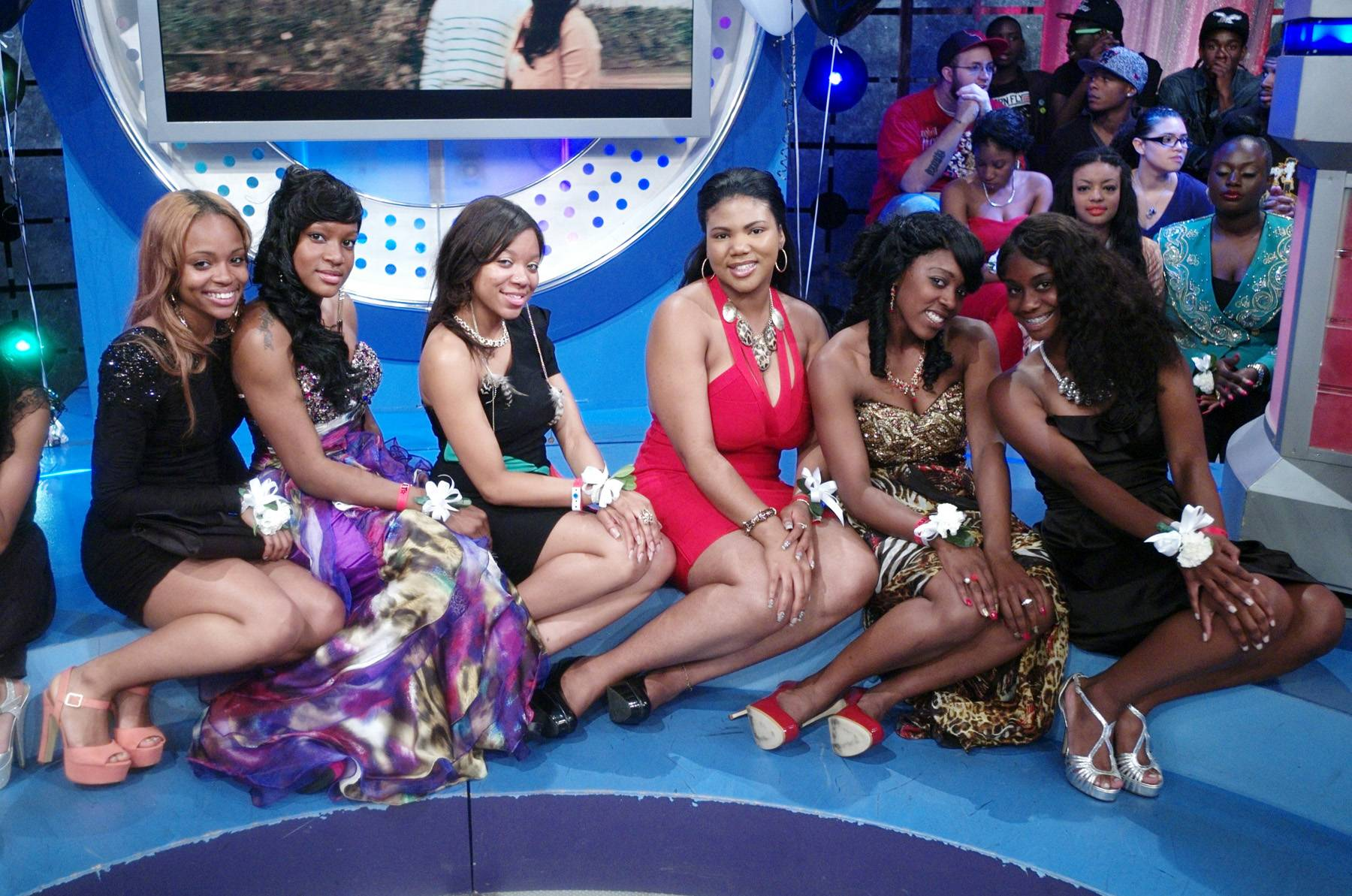 Ready For Prom - Audience members dressed to the Nines at 106 & Park, May 25, 2012. (Photo: John Ricard / BET)