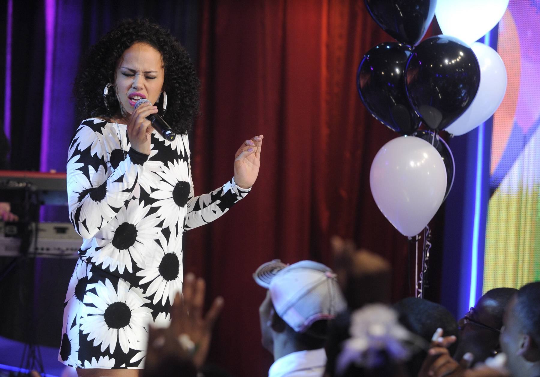 """Elle Varner - BET Music Matters alum Elle Varner rode the wave of her instant hit """"Refill"""" and debut albumPerfectly Imperfect to solidified her as a force to be reckoned with in the R&B game for years to come.(photo: John Ricard / BET)"""