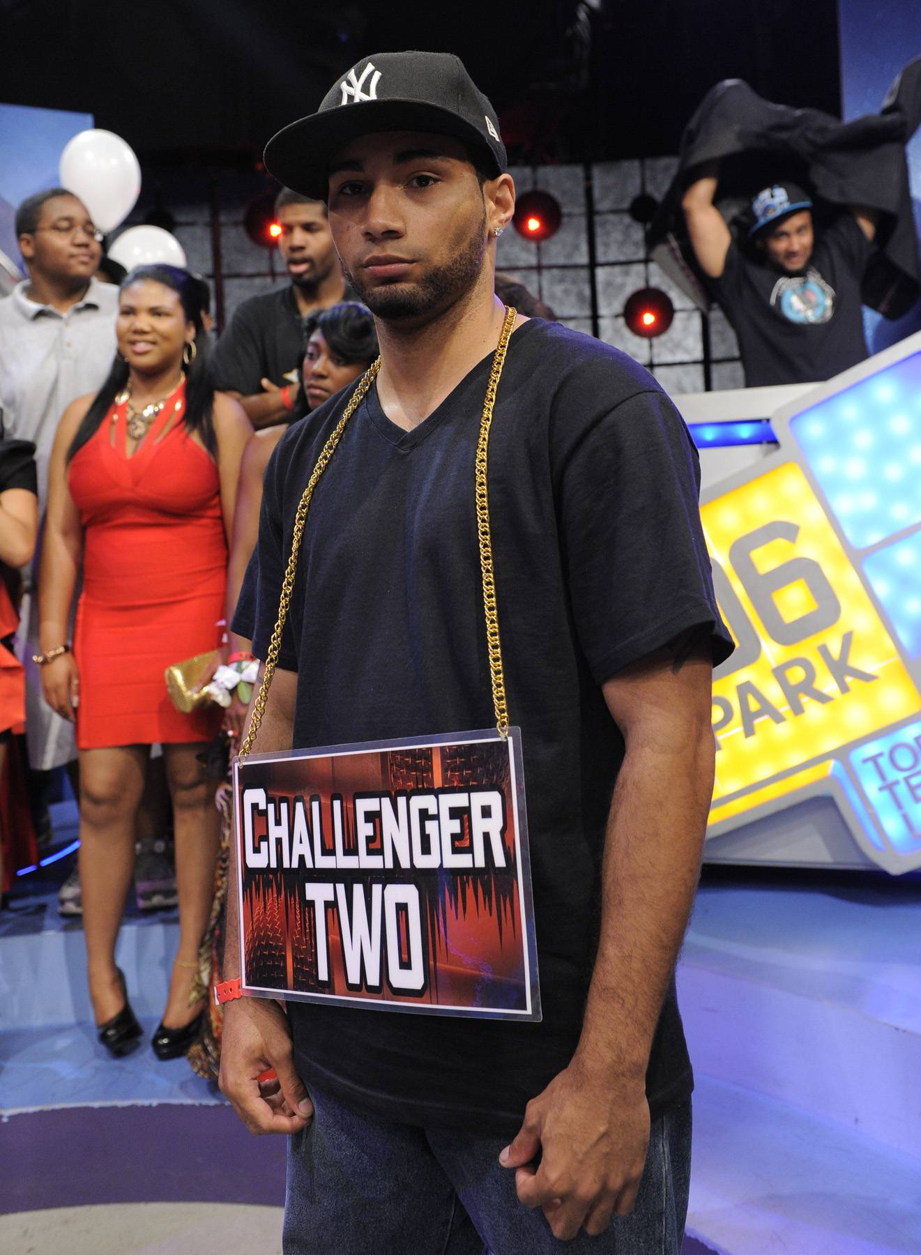 Oh Wee - Freestyle Friday contestants Jayo the Beatslayer at 106 & Park, May 25, 2012. (Photo: John Ricard / BET)