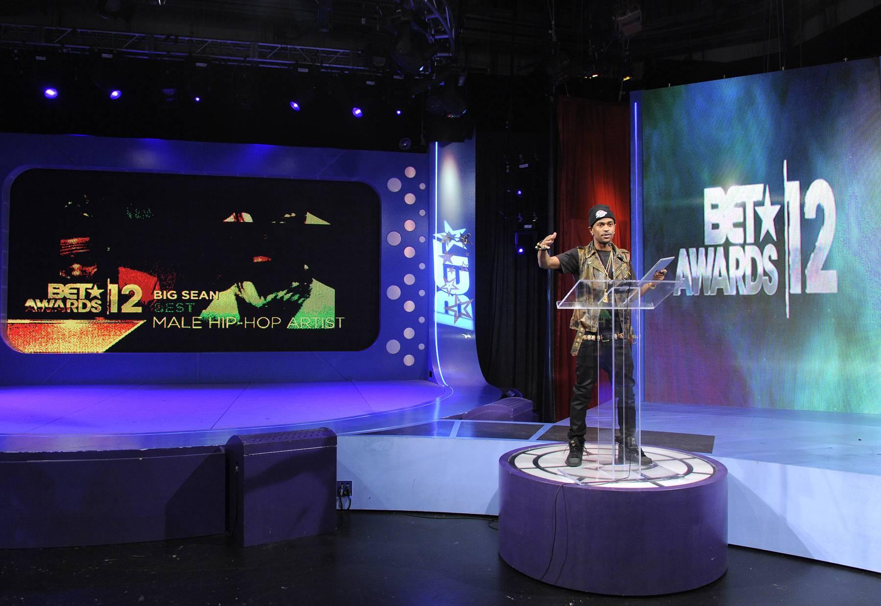 Big Sean Announces the Nominees - Big Sean at 106 & Park, May 22, 2012. (Photo: John Ricard / BET)