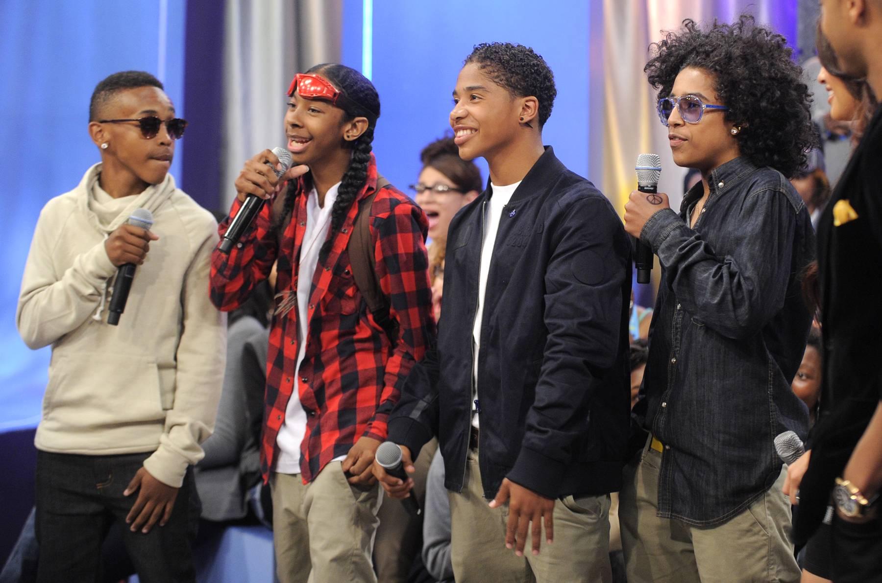 The Only Boy Band That Matters - Mindless Behavior at 106 & Park, May 22, 2012. (Photo: John Ricard / BET)