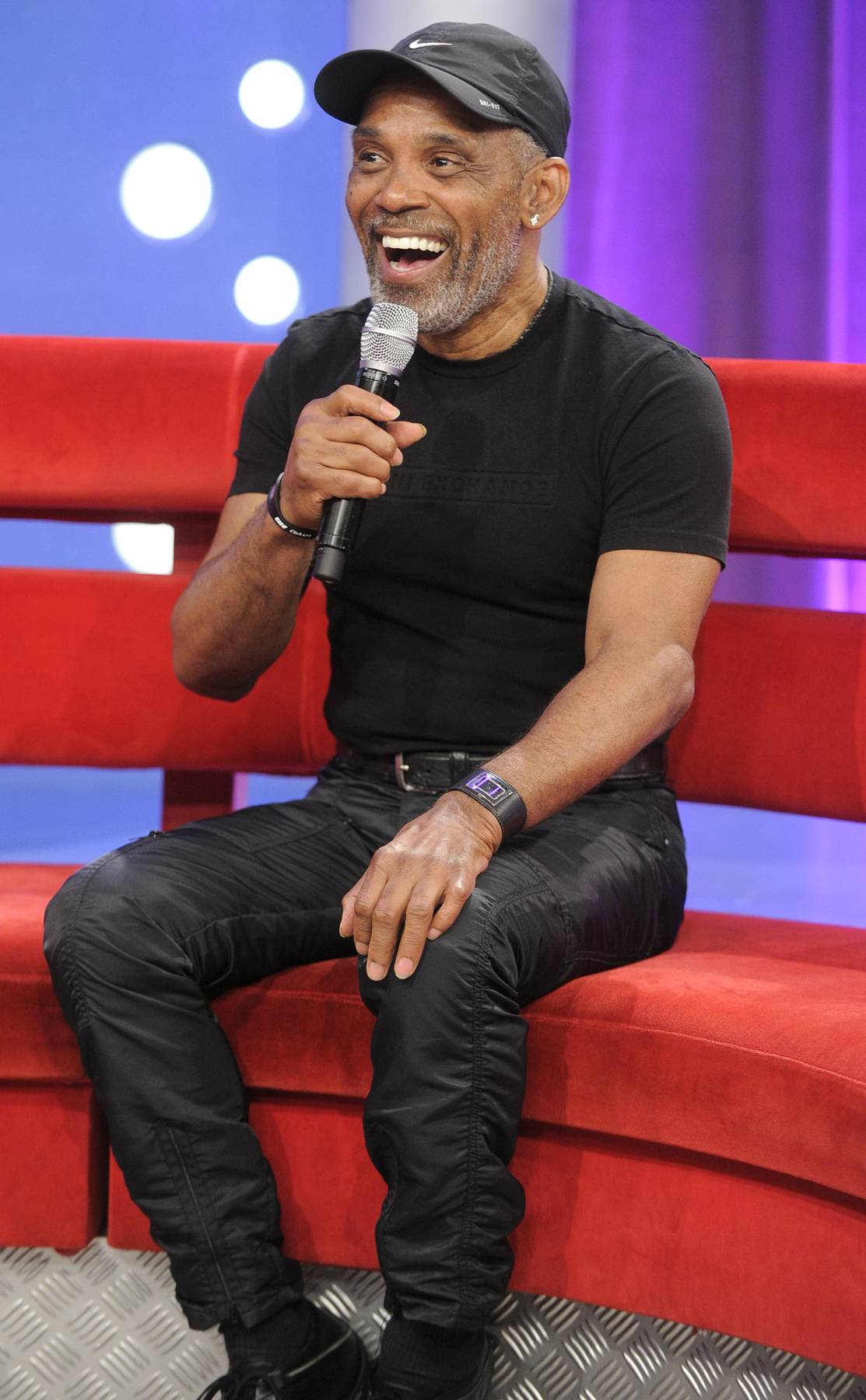 One Cool Dude - Frankie Beverly at 106 & Park, May 22, 2012. (Photo: John Ricard / BET)