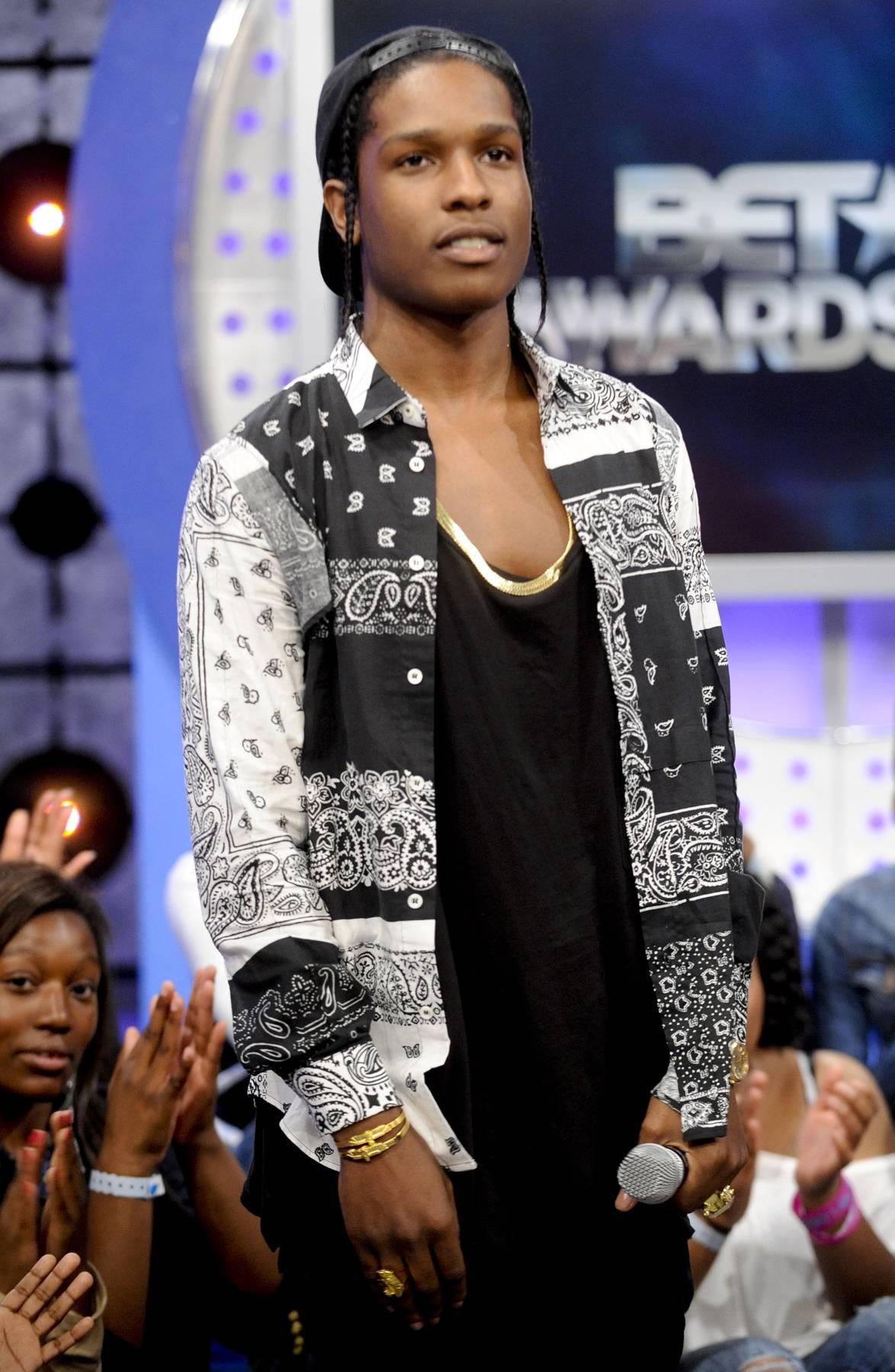 Swaggggg - A$AP Rocky at 106 & Park, May 22, 2012. (Photo: John Ricard / BET)