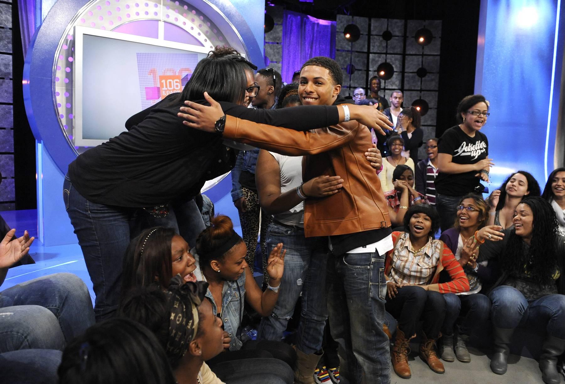Spread the Love - Diggy Simmons at 106 & Park, May 22, 2012. (Photo: John Ricard / BET)