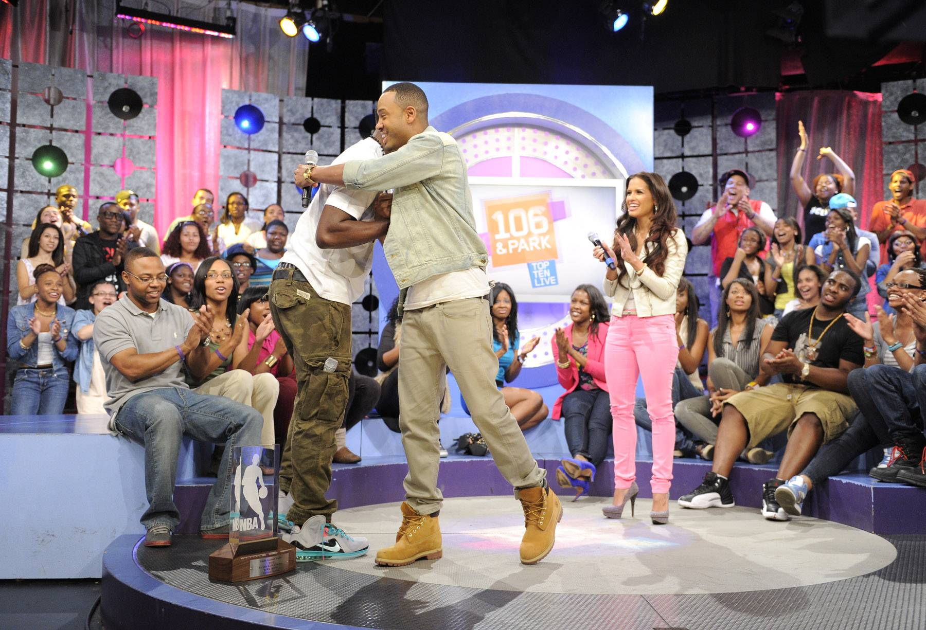 Yo - Kyrie Irving of the Clevaland Cavaliers at 106 & Park, May 16, 2012. (Photo: John Ricard / BET)