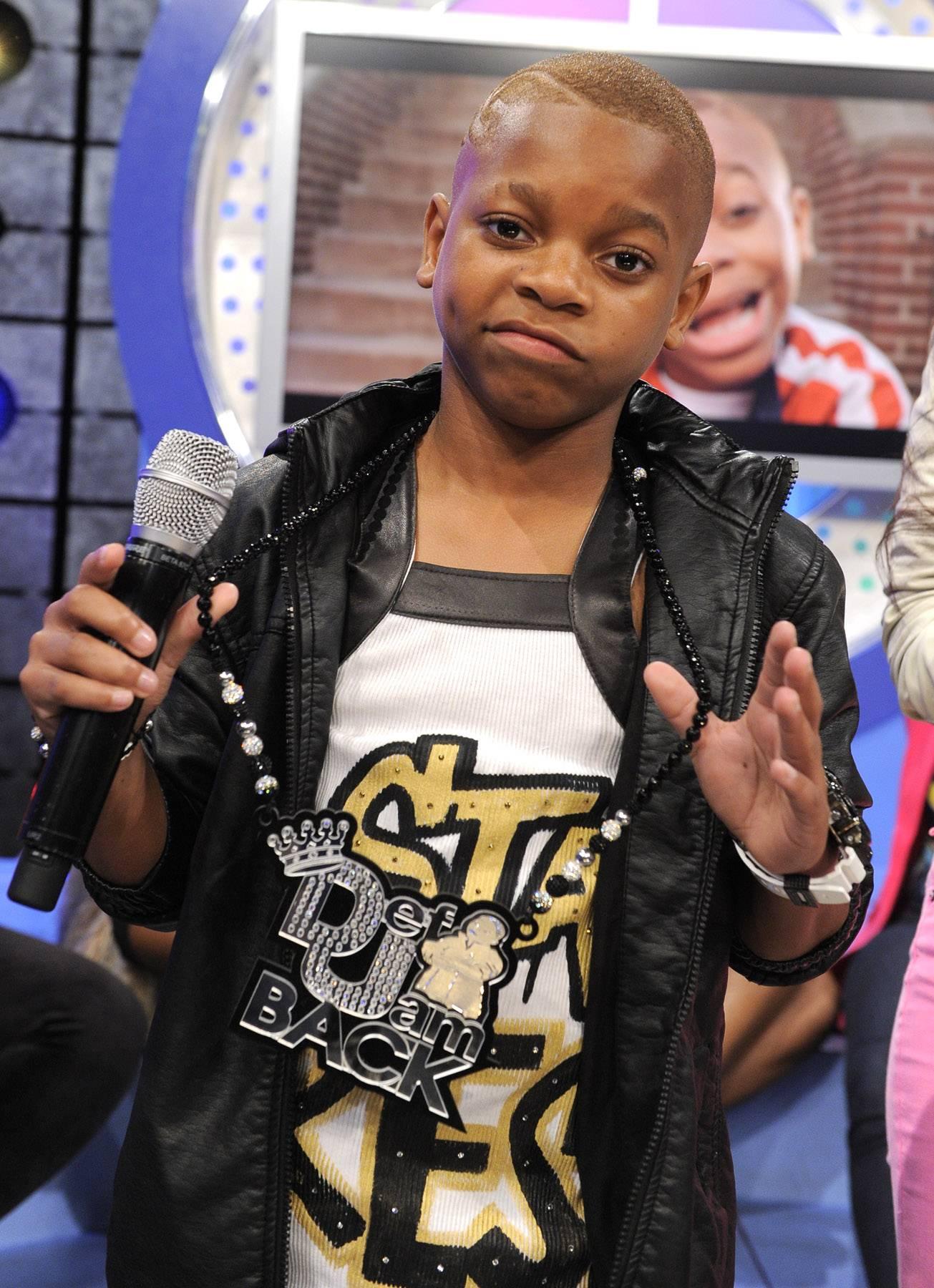Swagg - Lil Niqo at 106 & Park, May 16, 2012. (Photo: John Ricard / BET)