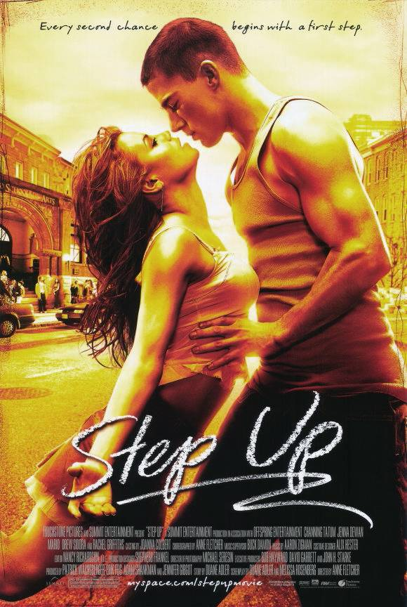 Step Up - Boy from the streets meets girl from the suburbs and they fuse two styles of dance together to make some beautiful choreography. Besides, Channing Tatum got his start in the Step Up movie franchise, and look at him now.(Photo: Touchstone Pictures)