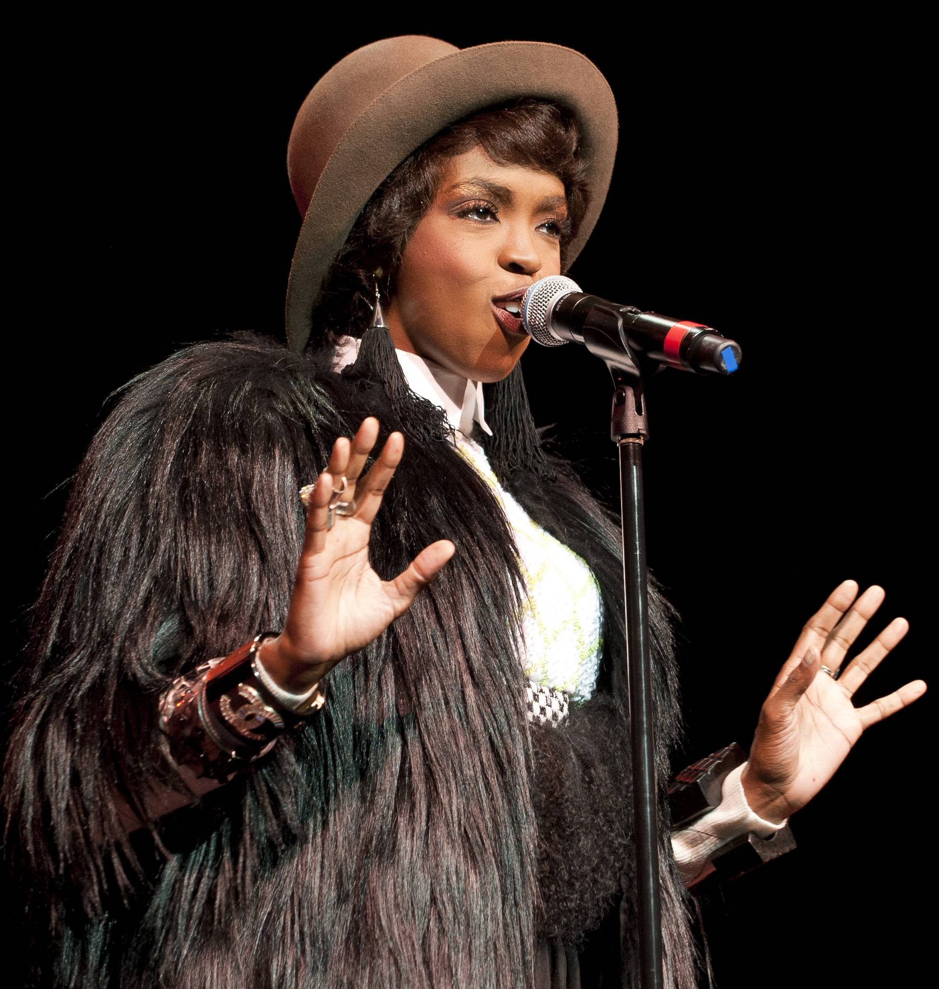 Lauryn Hill in Dreamgirls - For a project that was in development as long as Dreamgirls, it's no surprise many actresses cycled through the lead role of Deena Jones. Lauryn Hill was briefly attached in the mid-1990s, at the peak of her popularity, before her self-imposed exile. Of course,Beyoncé won the part in the end.(Photo: Jason Miller/Getty Images for Rock & Roll Hall Of Fame)