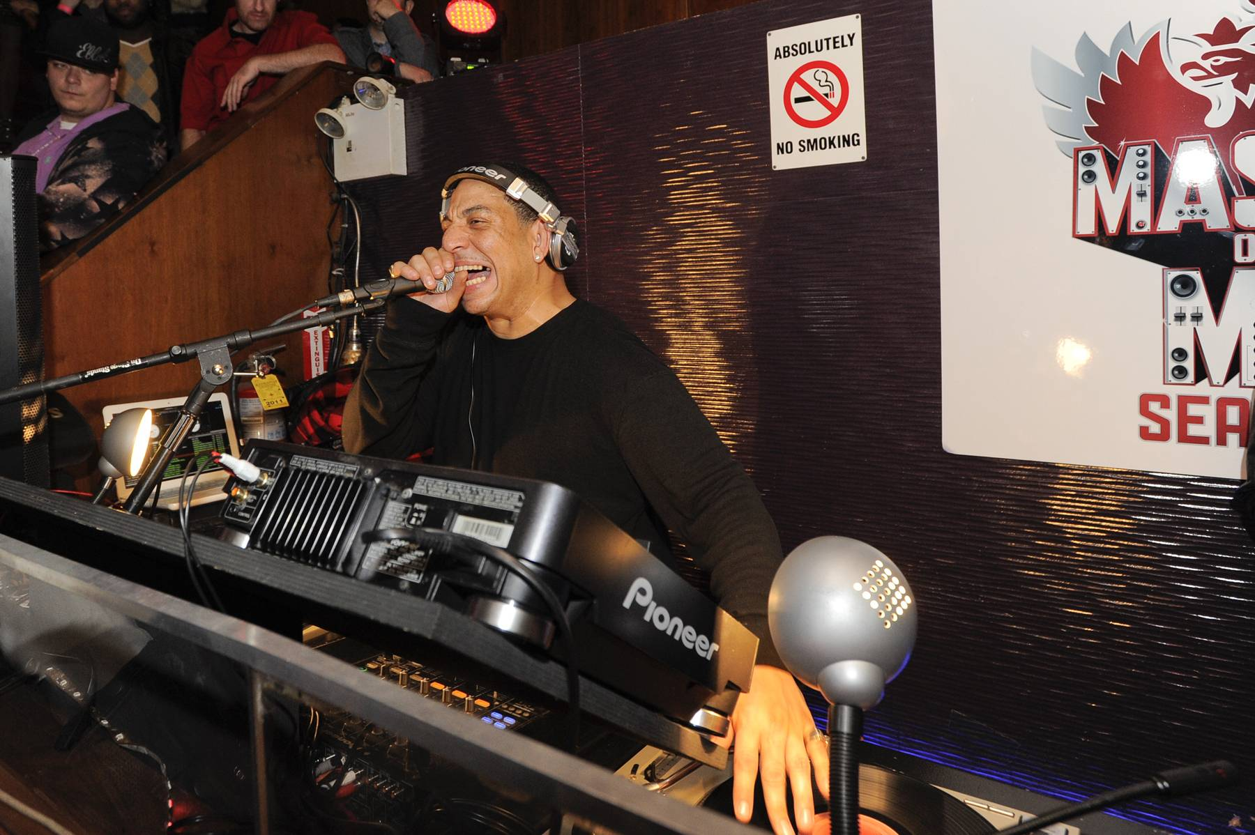 Party all night long!\r - Kid Capri rocked Club Marquee in New York City until the wee hours of the morning on November 03, 2011. (Photo: John Ricard / BET)