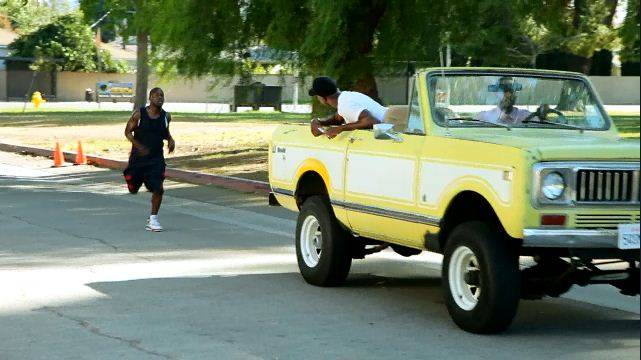 Trained By an Unprofessional - Kevin was also partially trained by J.B. Smoove, which didn't quite pan out.  (Photo: BET)