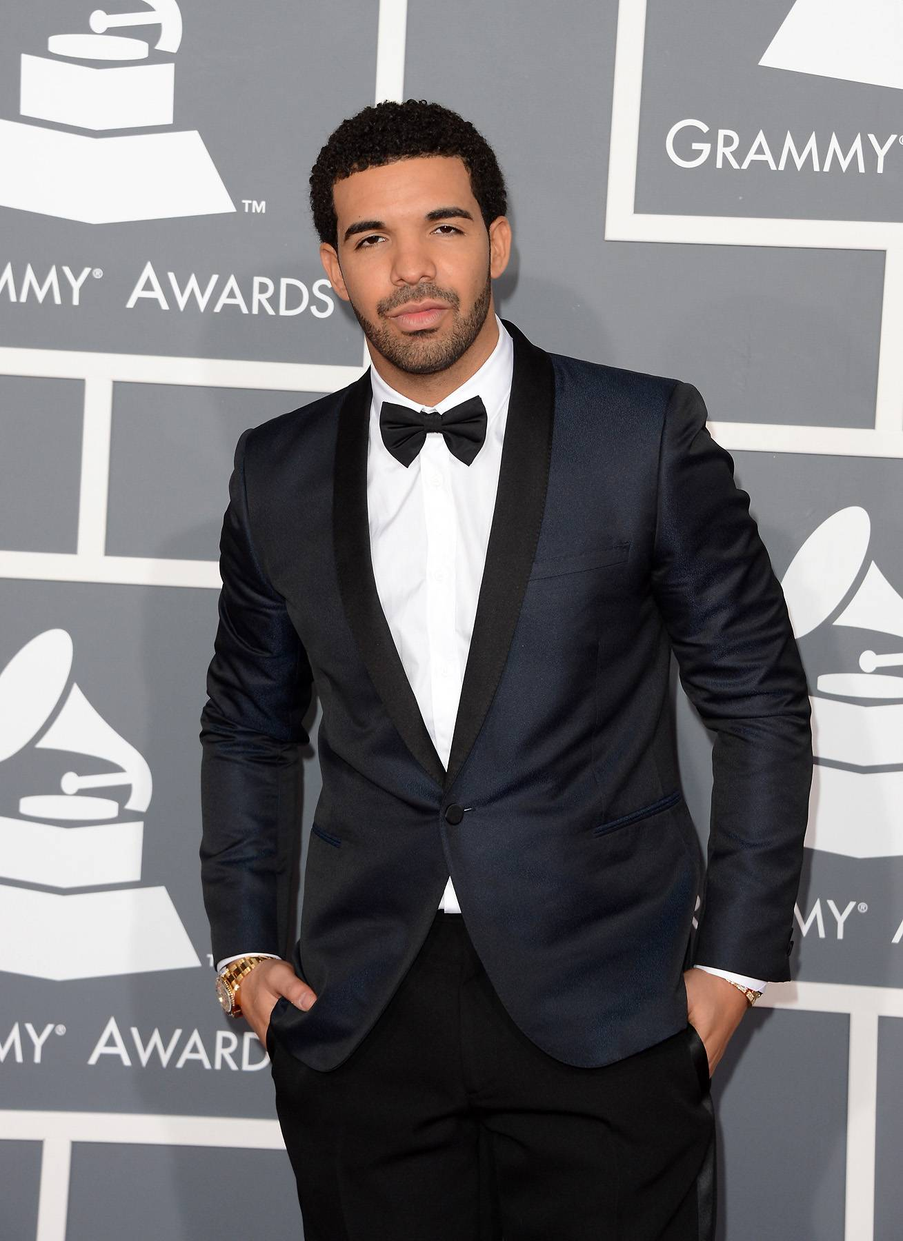 Drake - Drake seems to be spending Valentine's Day with a special lady, so there's no denying that October's Very Own Drizzy Drake is a sensitive and loving ladies man.  (Photo: Jason Merritt/Getty Images)