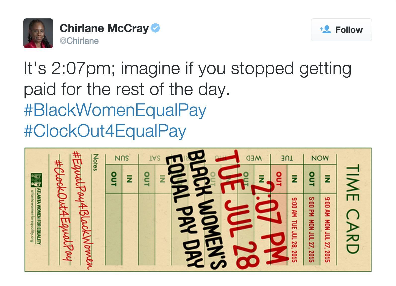 @Chirlane - (Photo: Atlanta Women For Equality via Chirlane McCray via Twitter)