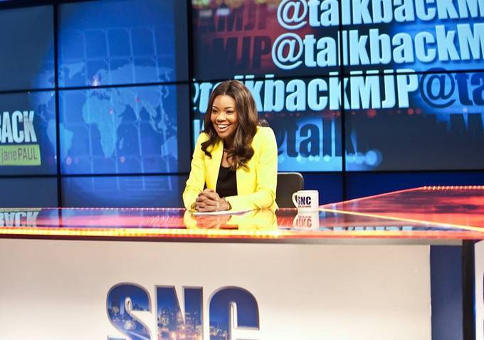 11. What's in a Name? - The newstation that Mary Jane works for goes by SNC, which stands for Satellite News Channel. SNC was actually a station that competed with CNN in the early '80s before it was shut down.   (Photo: BET)