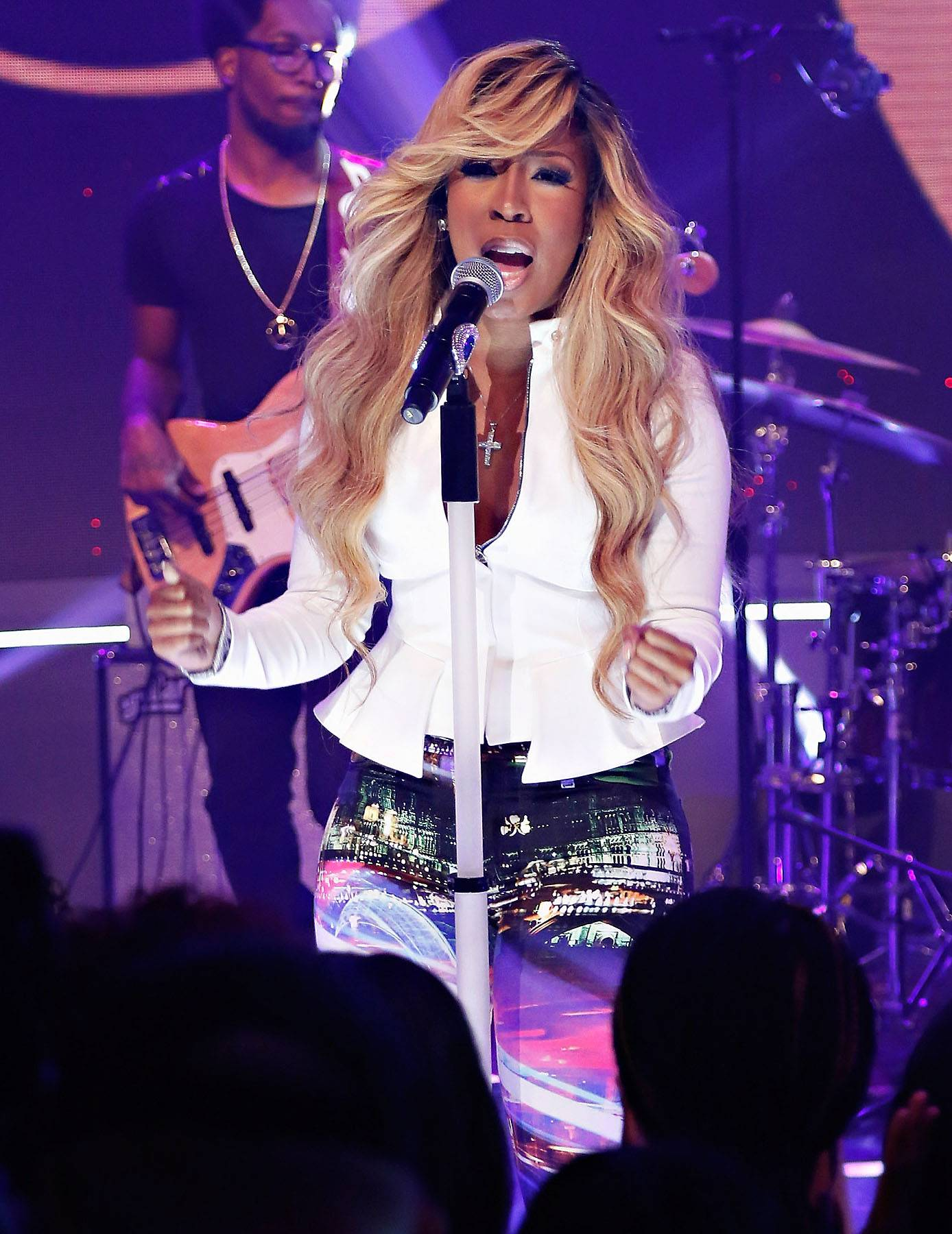 Best New Artist: K. Michelle - Scoring a No. 1 debut album solidified that there is more to the outspoken songstress than what is seen on TV.  (Photo: Cindy Ord/BET/Getty Images for BET)