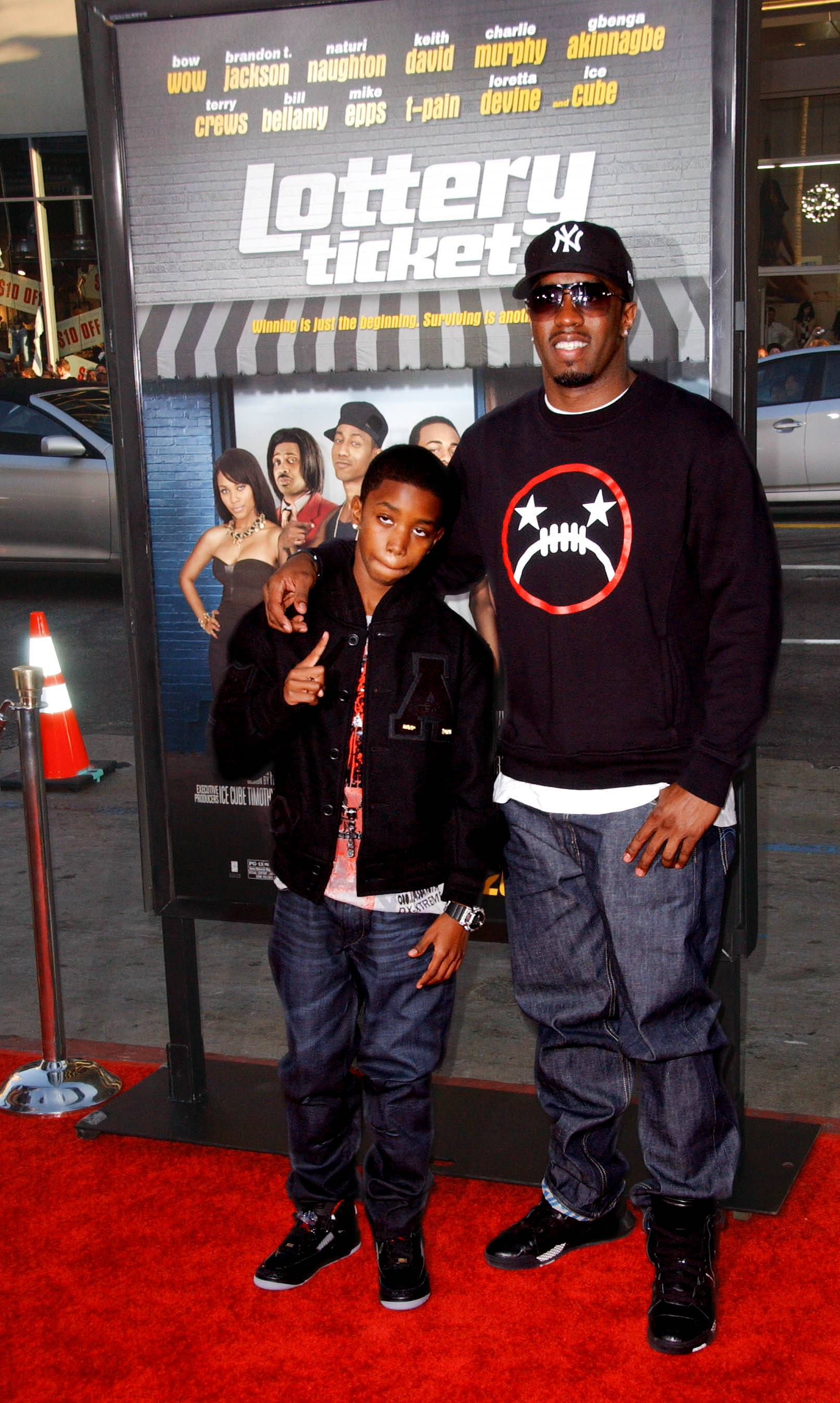 """Diddy - """"I definitely enjoy the responsibilities of fatherhood. It?s one of my proudest achievements. It?s probably one of the things I can honestly say I?m not the most successful at.? It gets hard when you?re trying to make sure you?re providing for their future, and being a workaholic, and then also [giving] the time that your kids deserve as far as raising them.""""(Photo: Albert L. Ortega/PictureGroup)"""
