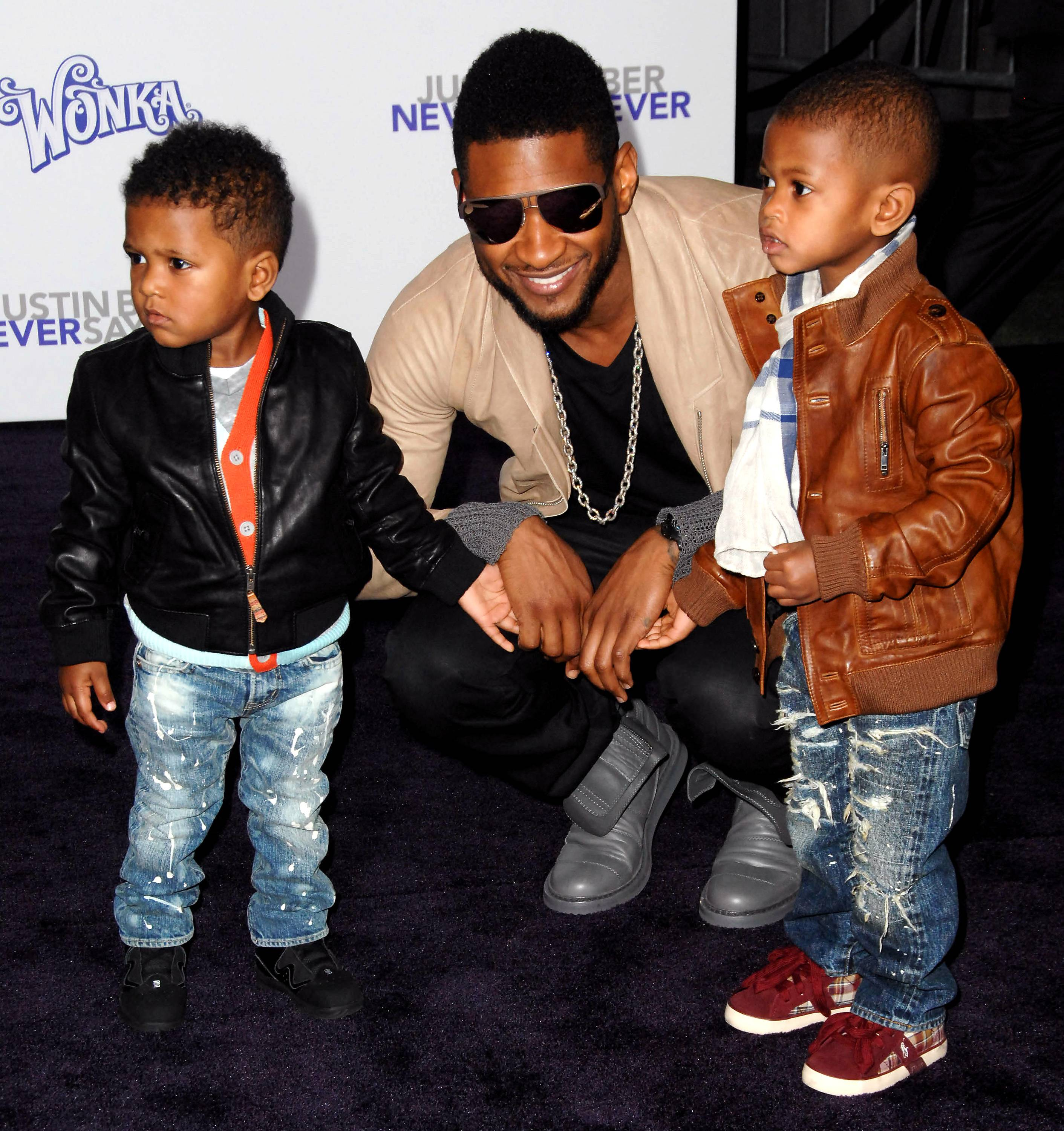 """Usher discusses the joys of parentinghis two sons, Usher V and Naviyd - """"They make we want to get up and live, you know. I have a purpose that is greater than just, you know, amassing wealth and being recognized, you know. This is, this is real, real life now.""""(Photo: Albert L. Ortega/PictureGroup)"""