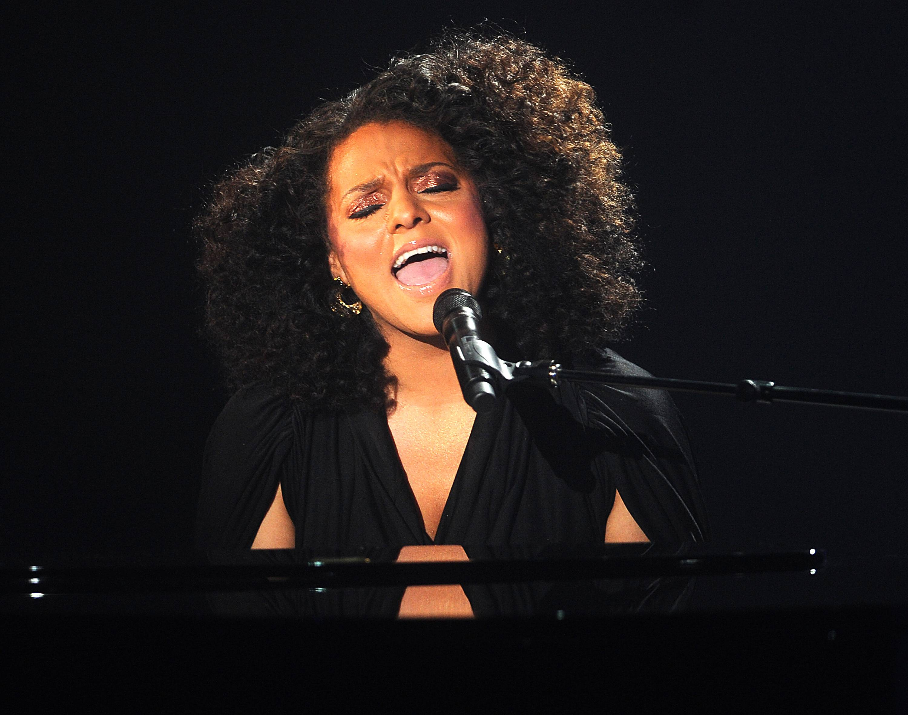 Dawning of a New Era - In 2011, Ambrosius released her solo debut, Late Nights, Early Mornings, to critical acclaim. The album peaked at No. 22 on the Billboard Hot 100.(Photo: Brad Barket/PictureGroup)