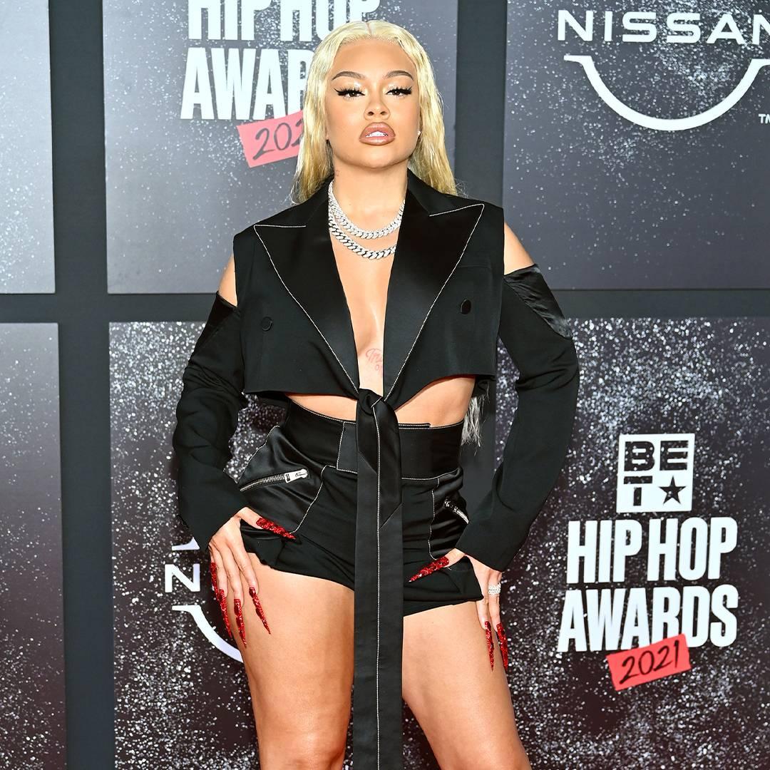 BET Hip Hop Awards 2021 | Red Carpet Latto | 1080 x 1080