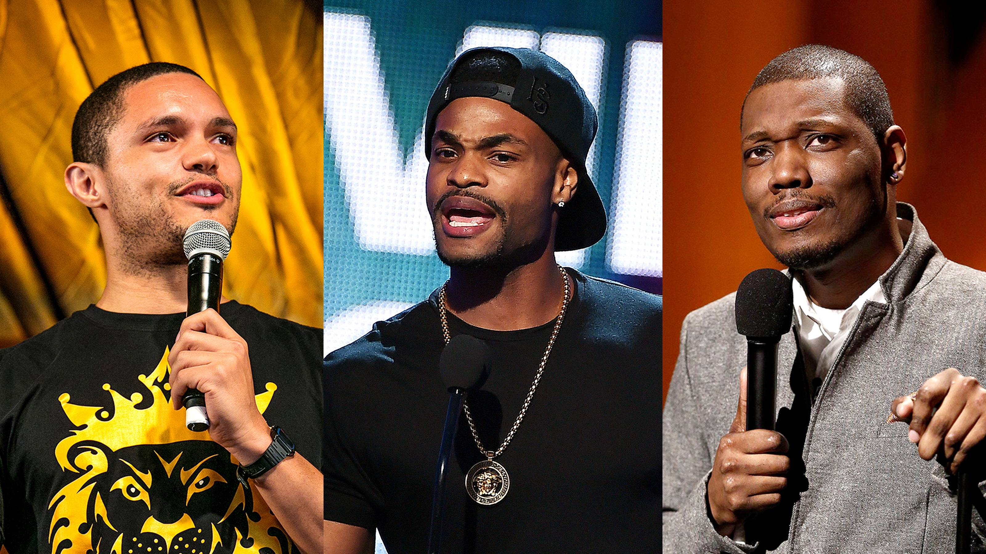 Top Rising Black Comedians Hosting TV Shows - Lately, there seems to have been an influx of comedians, specifically Black comedians, who are taking over TV shows left and right. In honor of this achievement, here's a list of the rising comedians turned TV hosts/personalities that you should know.   (Photos from Left: WENN, Kevin Winter/Getty Images for Dick Clark Productions, Peter Kramer/NBC/Getty Images)