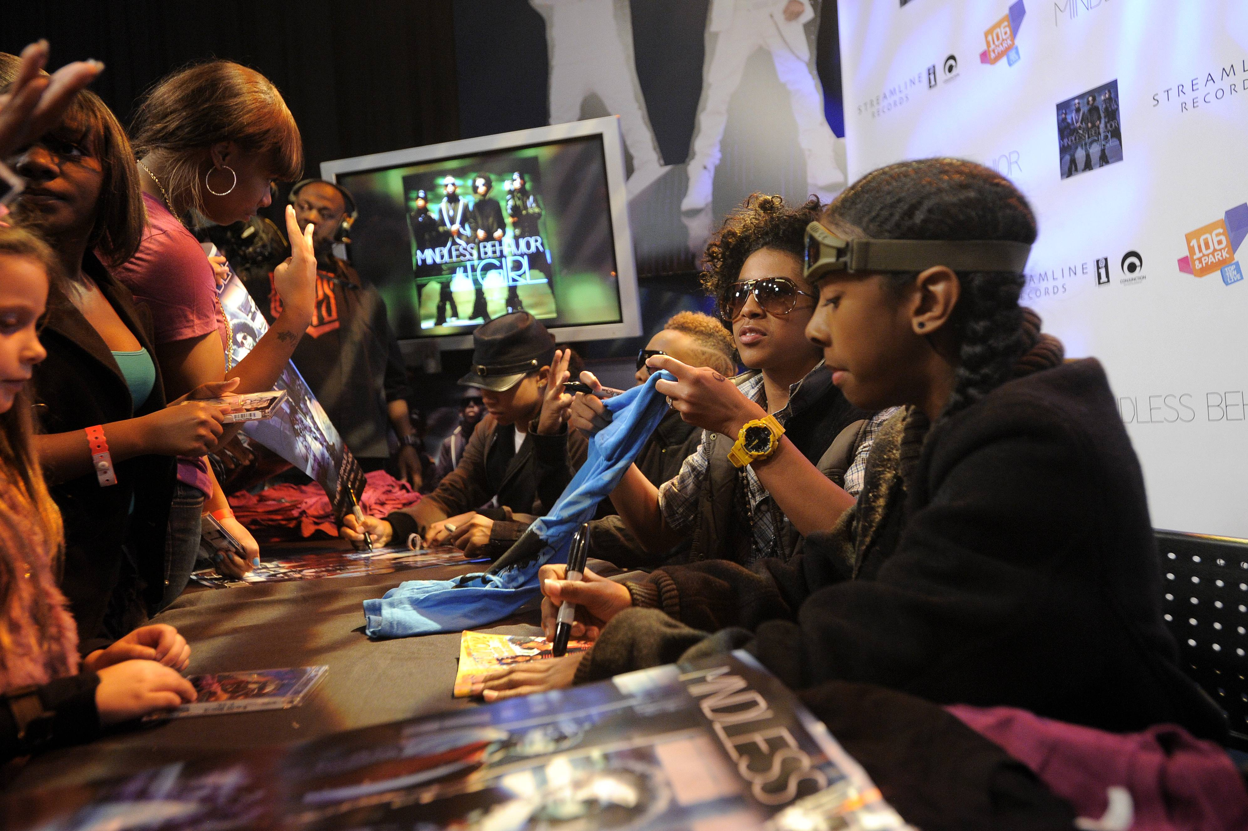 10. They Love Their Fans - Mindless Behavior adore their fans! They are who they are because of you guys!(Photo: John Ricard/BET)