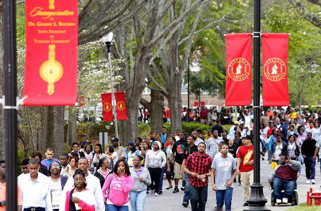 #5: Tuskegee University Tuskegee, Alabama - 2011-2012 Tuition and Fees: $17,840Enrollment: 2,480Admissions application deadline: March 15Acceptance rate: 64.1%Regional Colleges (South) ranking: 17(Photo: Tuskegee.edu)