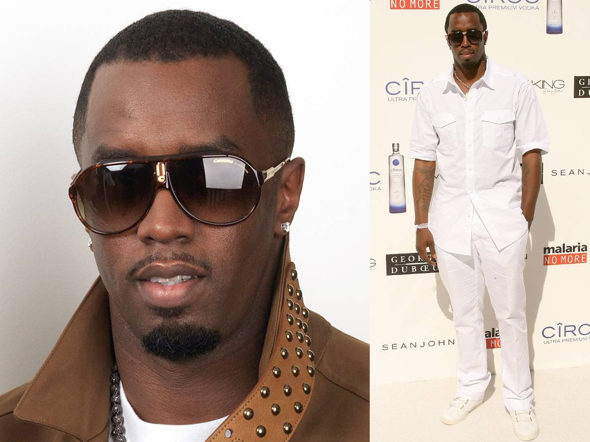 Diddy - Diddy is known for his slightly mischievous goatee line that thinly outlines that braggadocious mouth of his. This year, he?s playing with the shape of his goatee to achieve a different look. We like.   Style Tip: We most love the way Diddy drapes his chocolate skin in cream, taupe and white. These wintery hues make for some great looks.  (Photos: Dave Hogan/Getty Images; Jesse Grant/Getty Images)