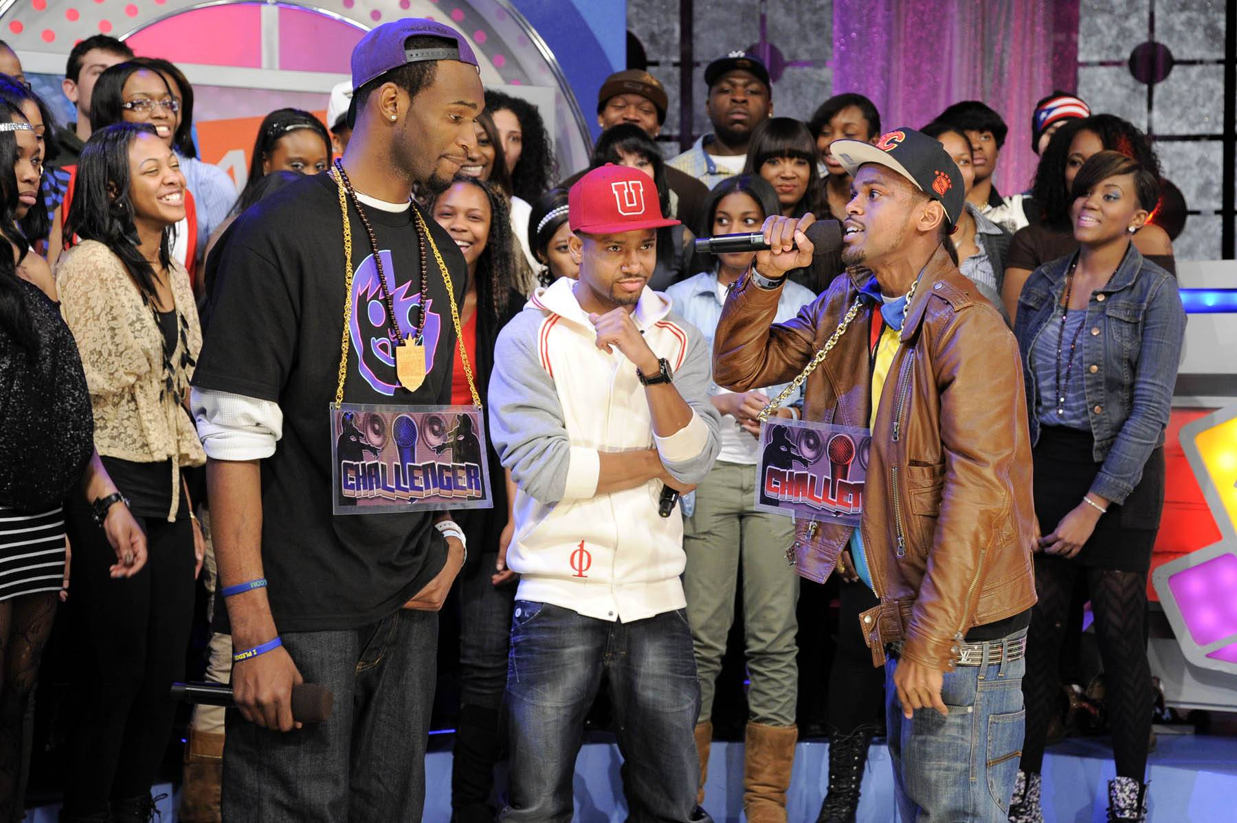It's Time - Freestyle Friday challenger J Dose battles at 106 & Park, January 27, 2012. (Photo: John Ricard / BET)