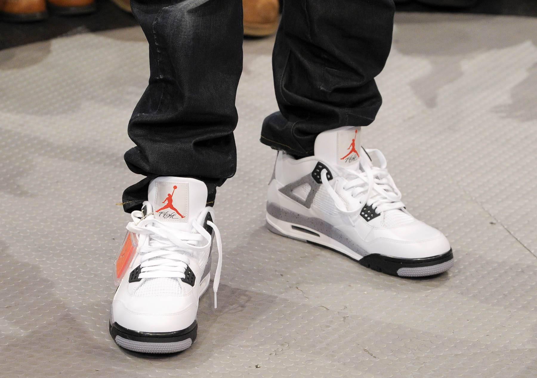 I Love My Kicks - Terrence J at 106 & Park, January 27, 2012. (Photo: John Ricard / BET)