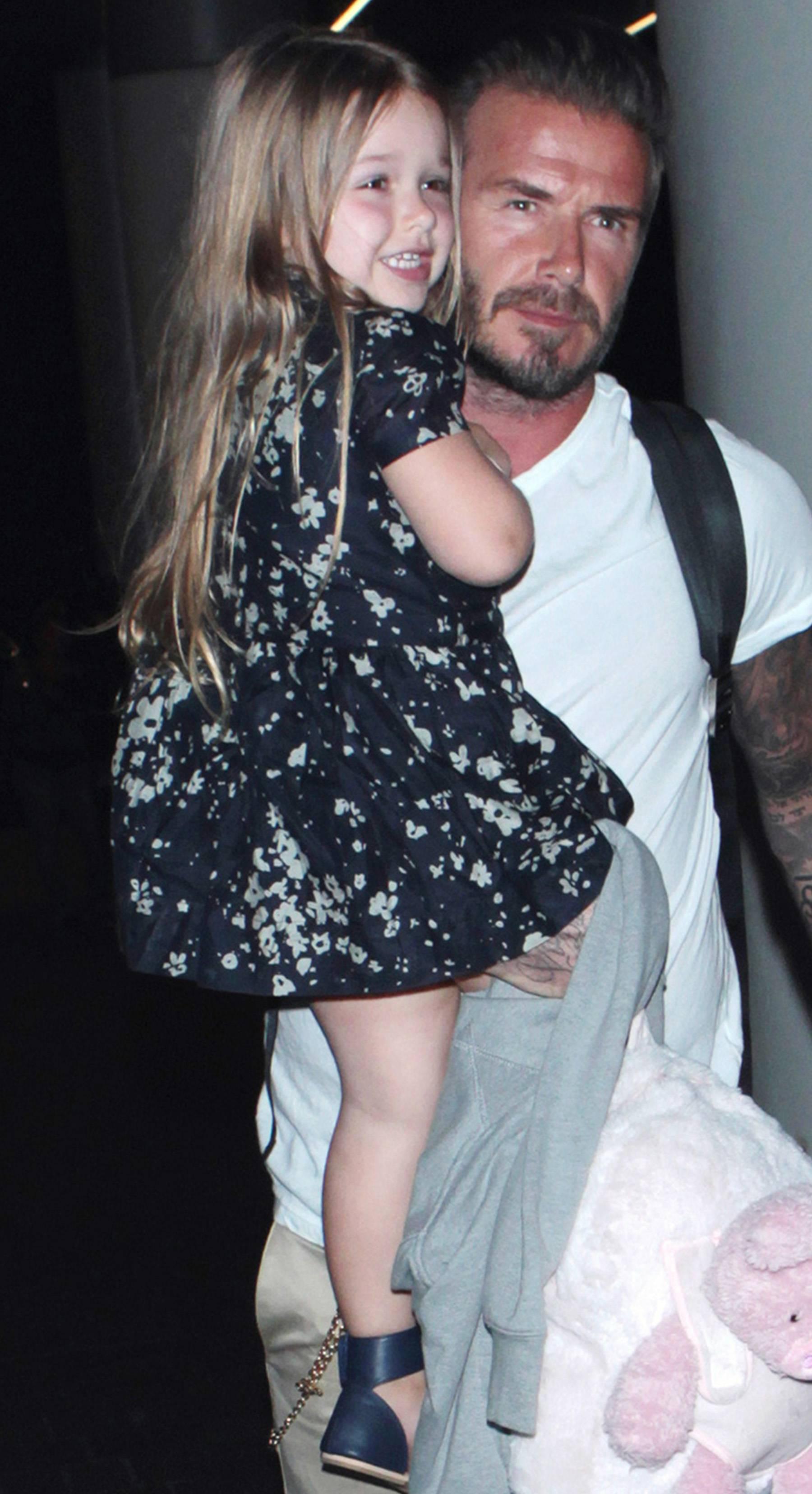 Harper Beckham - She wears the fashion crown well. (Photo: MHD, PacificCoastNews)