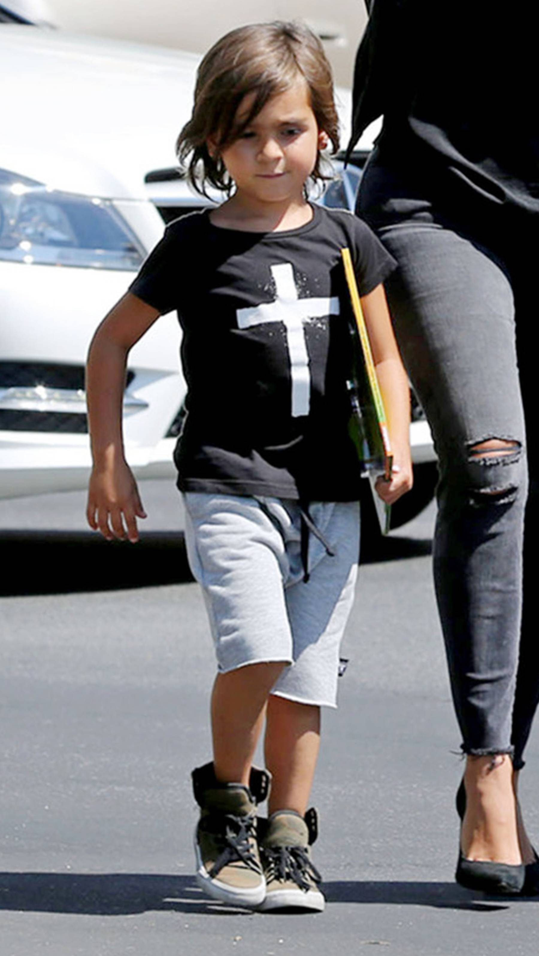 Mason Disick - Little Mason knows how to rock out!(Photo: PacificCoastNews)