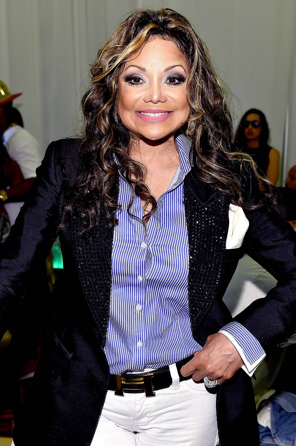 Up Like Donald Trump  - In 2011, La Toya Jackson took on Celebrity Apprentice, but she was fired in rounds eight and 10. Soon after, in 2013, La Toya landed her own show on the OWN Network called Life With La Toya, where she gets candid about her life in and out of the spotlight. (Photo: Alberto E. Rodriguez/Getty Images for BET)