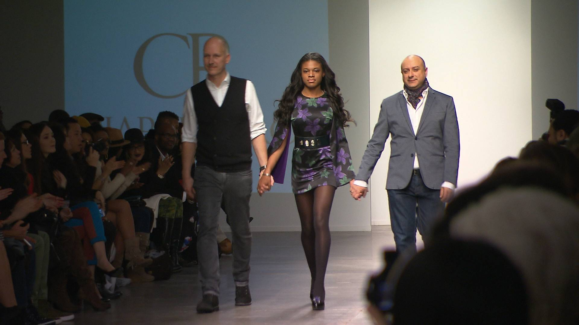 Come Through! - Stink closes out a show at NYFW.   (Photo: BET)