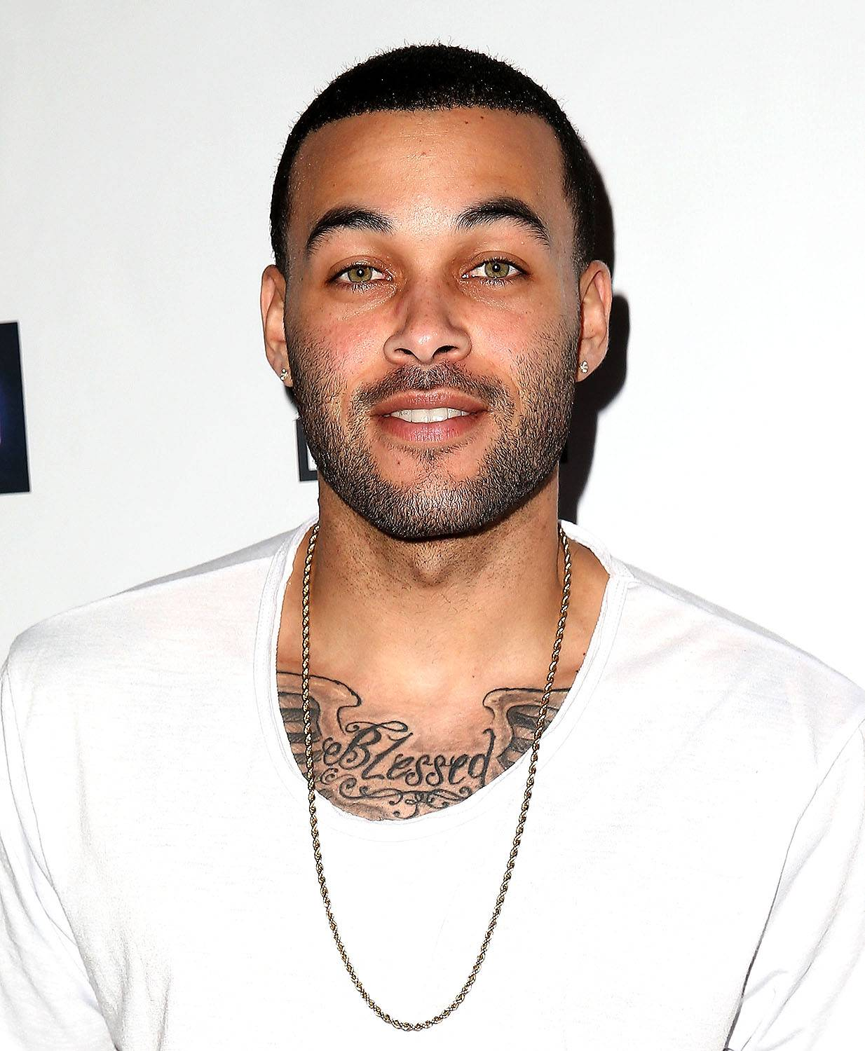Don Benjamin - The unique combo of street edge and high-fashion mystery. We're in love.  (Photo: Imeh Akpanudosen/Getty Images)