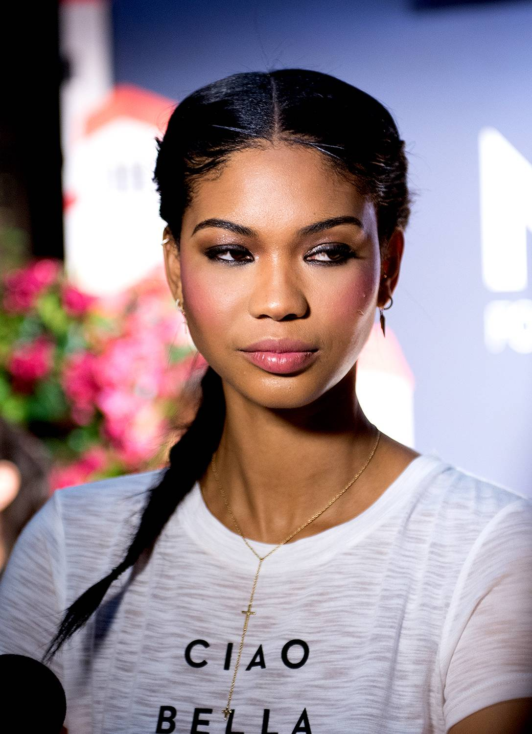 Chanel Iman - The skies opened up and created the future of modeling. We're grateful for this beauty, whose name immediately reminds us of iconic fashion greatness.  (Photo: Noam Galai/Getty Images)