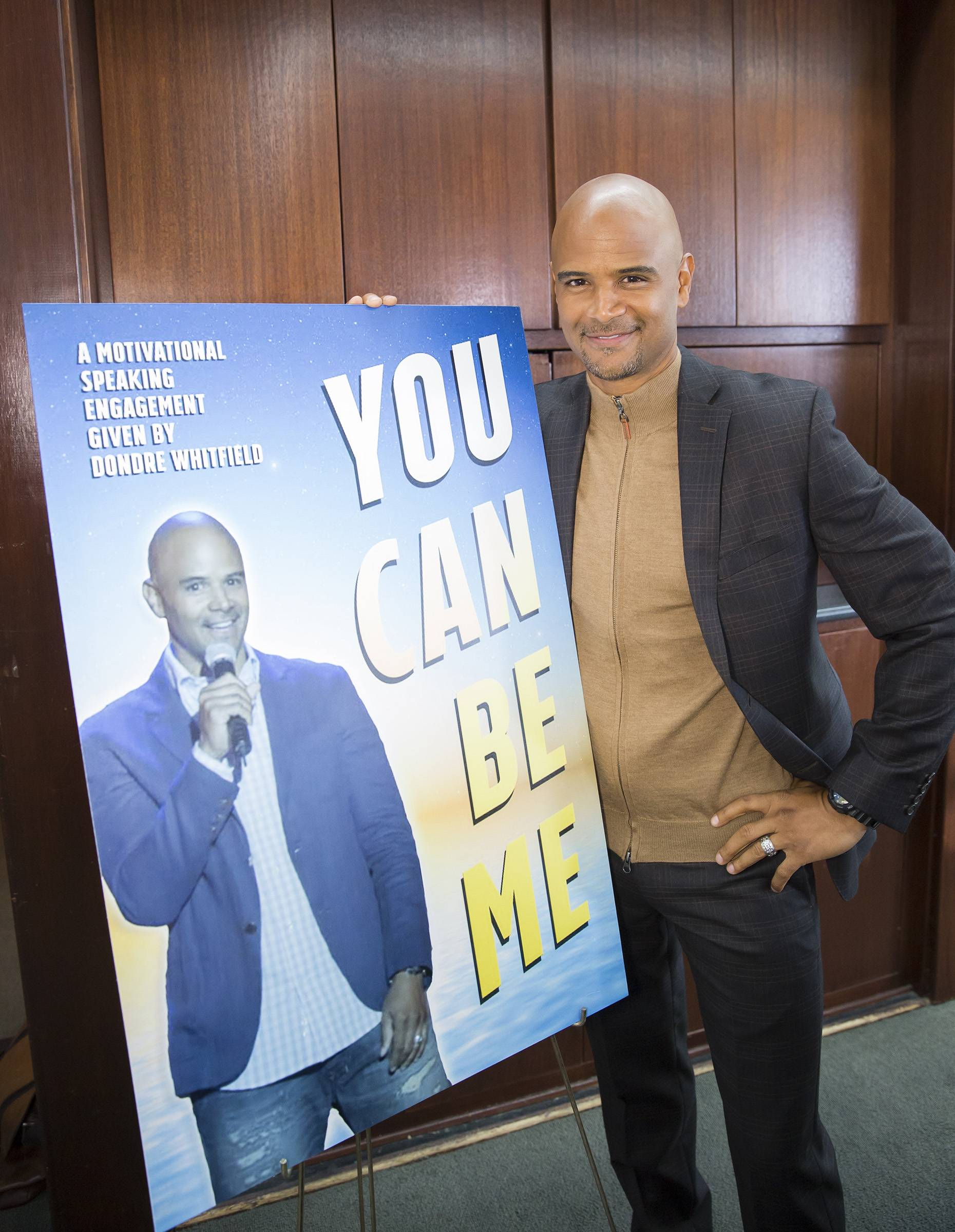 Kevin gets talked into the idea that he can be anyone he wants to be. - (Photo: BET)