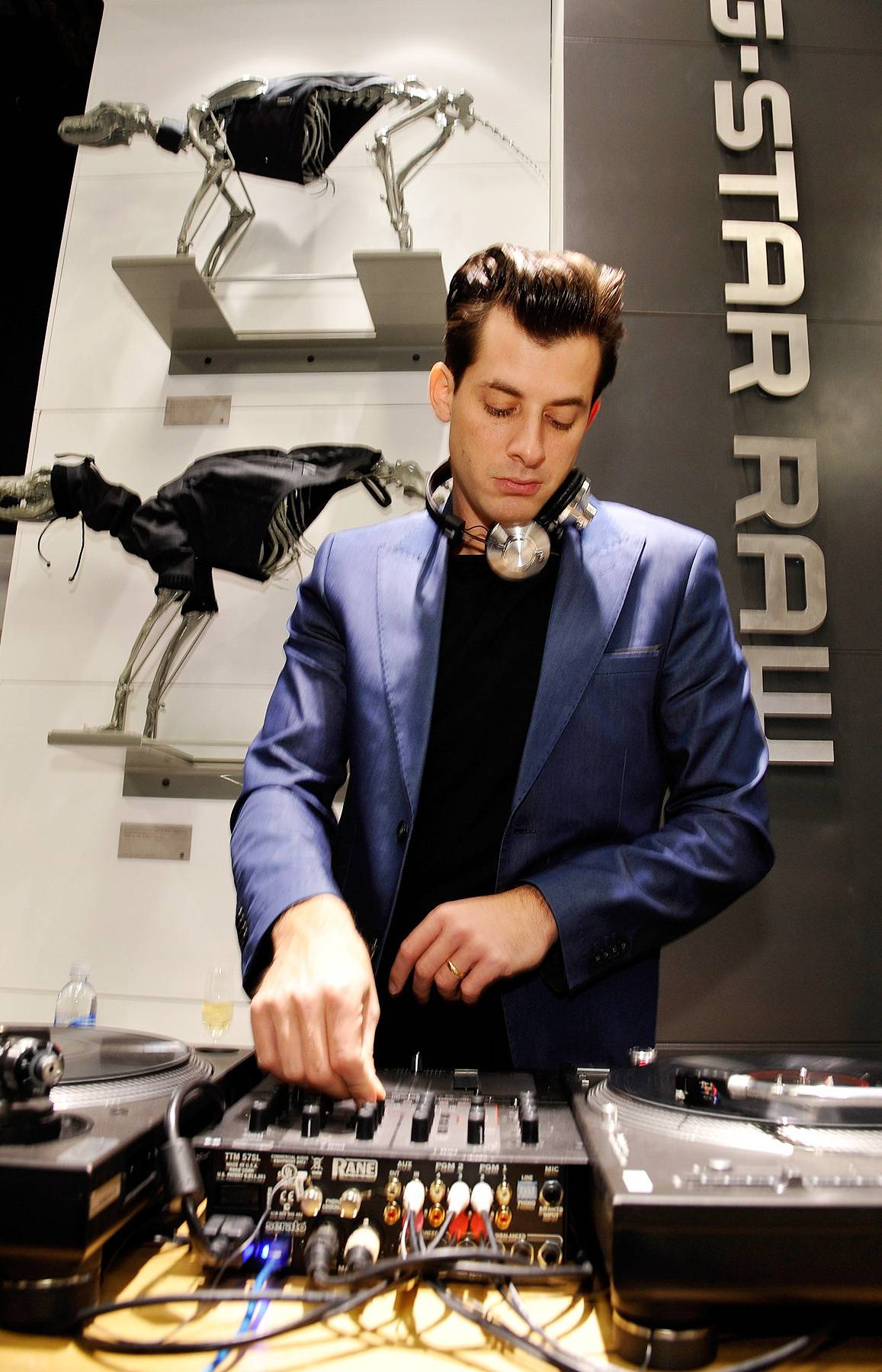 """35. Mark Ronson - Though he's now revered for his vintage, Grammy-winning production work behind Amy Winehouse and others, Ronson started out a renowned club spinner known for helping pioneer the """"mash-up"""" craze and becoming one of the first so-called """"celebrity DJs."""" (Photo: John Sciulli/Getty Images for G-Star)"""