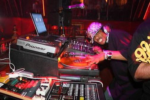 """45. DJ Kool - DJ Kool's control over a party is the stuff of legend. He was already a veteran of D.C.'s go-go scene, warming up the crowd for Rare Essence, when he began making hip hop records that captured the frenzied energy of his parties. His most known hit, the 1996 call-and-response classic """"Let Me Clear Throat"""" is still a go-to for DJs worldwide.  (Photo: Myspace)"""