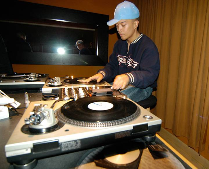 40. DJ Qbert - Pound for pound, Qbert is arguably the illest scratcher of all time. With his mind-bending, lightning-quick cuts, he lorded over DJ battles and competition in the early '90s, leading turntablism's emergence as a true art form that decade. His deft scratches on Kool Keith's 1996 underground classic Dr. Octagonecologyst are nothing short of face-melting.  (Photo: djqbert.com)