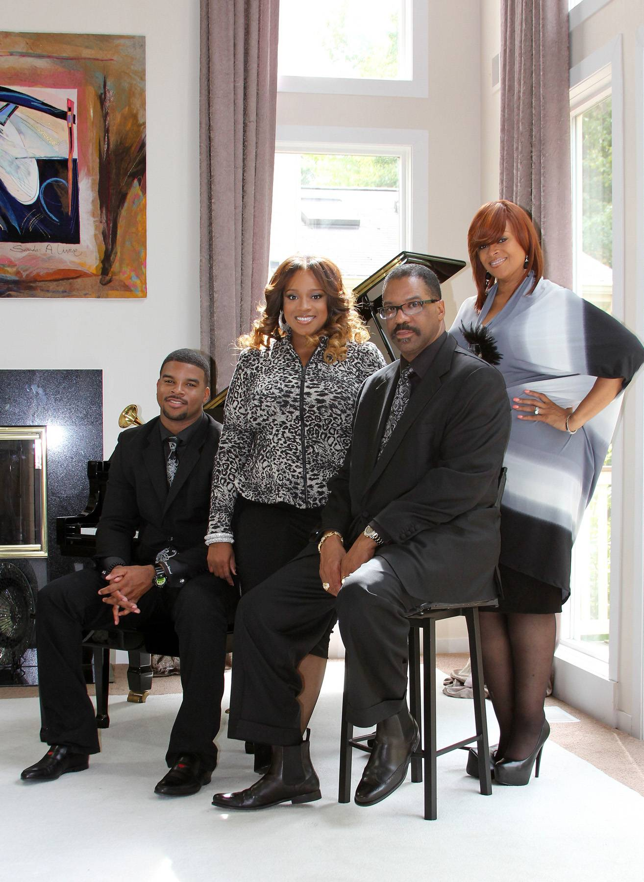 All in the Family  - Karen Clark Sheard keeps the ministry all in the family, from her and her husband pastoring local and international churches to her daughter, Kierra Sheard, being a head judge on BET Sunday Best,or being a popular contemporary gospel artist and her son being a producer for Pharrell Williams's Star Trak Entertainment, the family is all in the music. (Photo: BET)