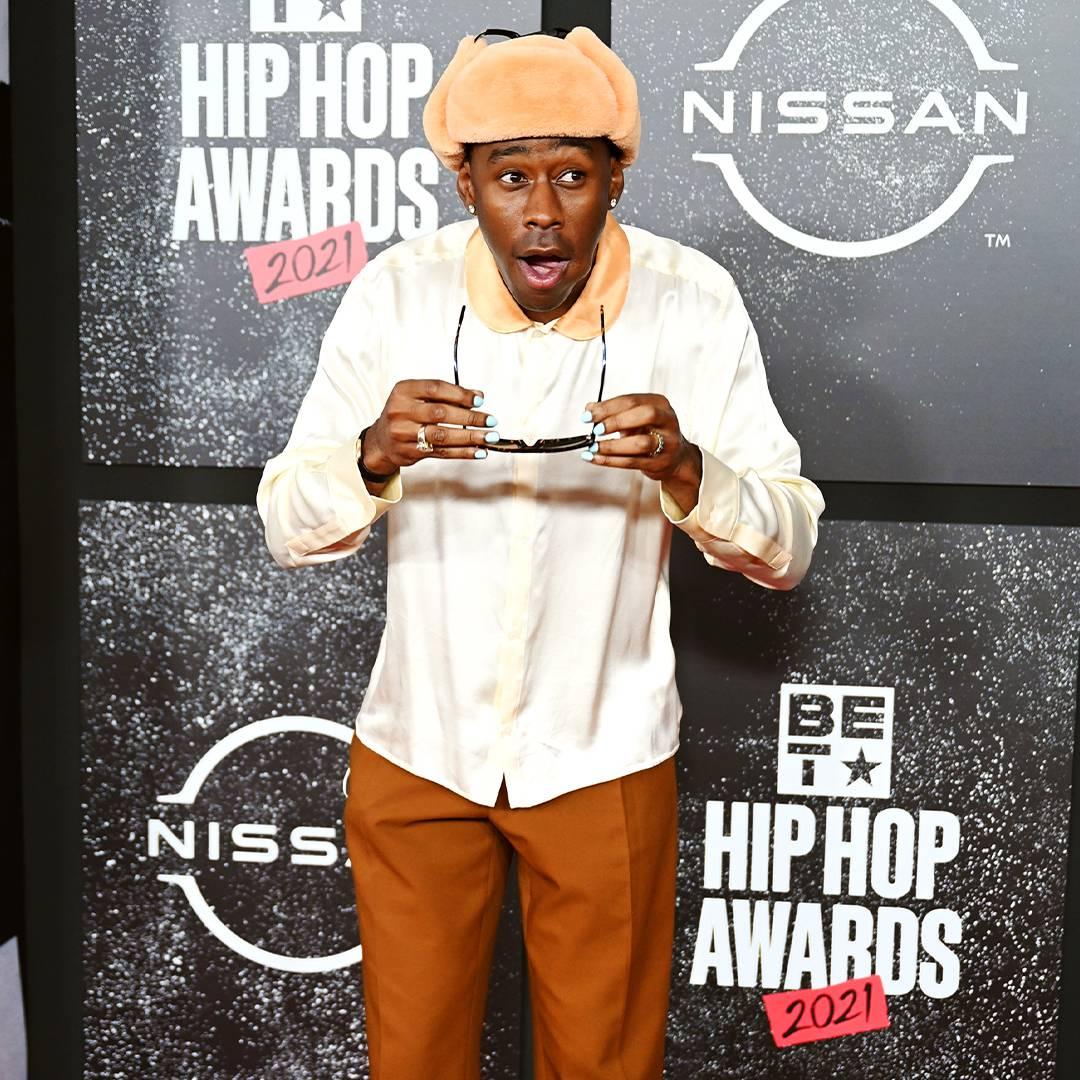 BET Hip Hop Awards 2021 | Red Carpet Tyler, The Creator | 1080 x 1080