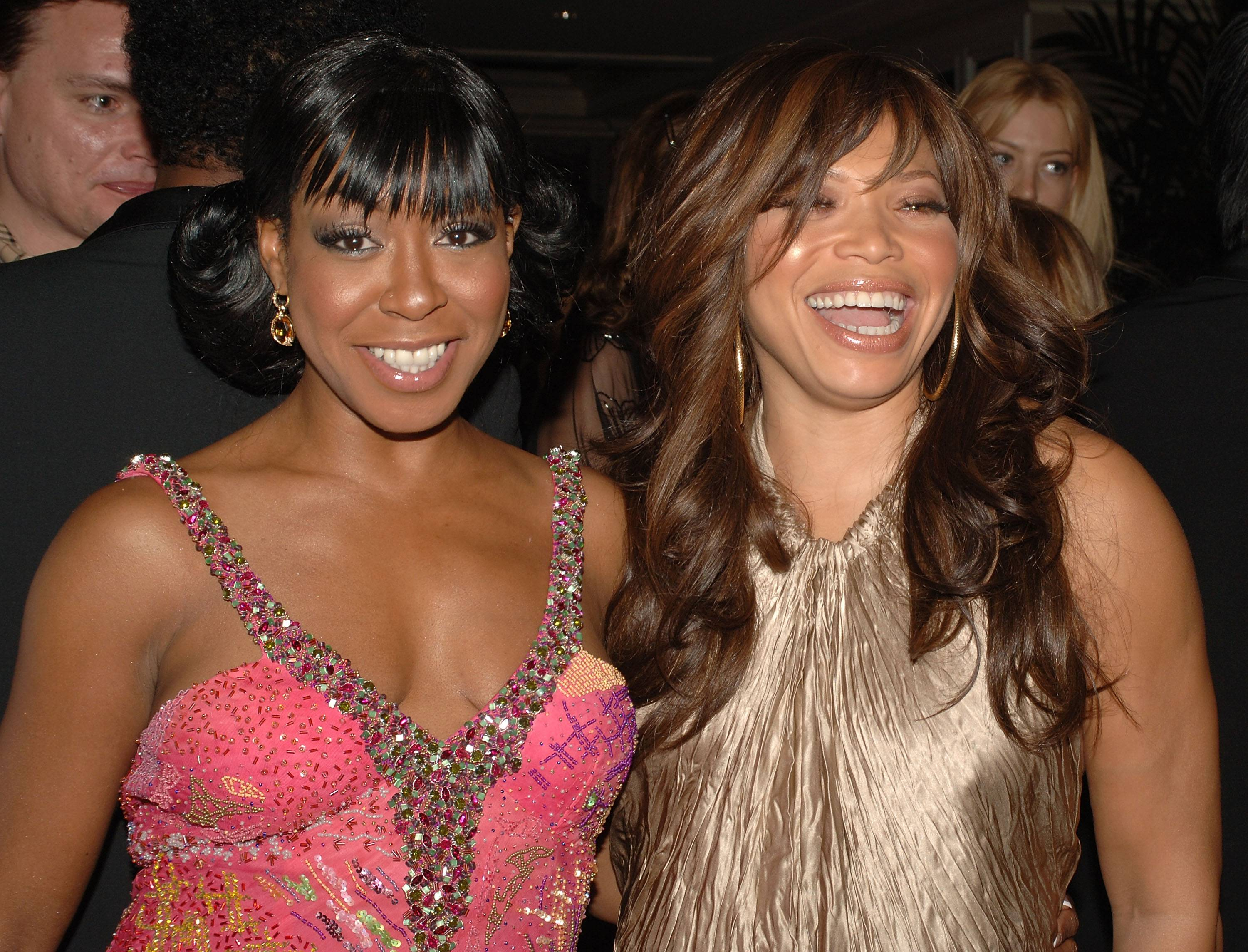 Tichina Arnold & Tisha Campbell-Martin - After sharing seasons of extreme laughter on the set of Martin, Tisha and Tichina became best friends.   (Photo: Stephen Shugerman/Getty Images)