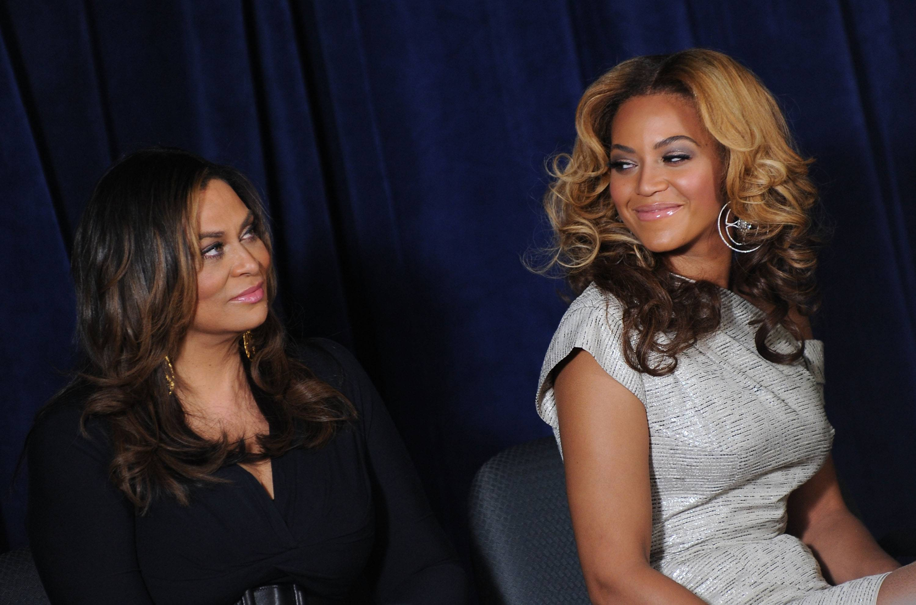 """Tina Knowles andBeyonc? - Not many women can say that their mom is one of their best friends, but these two have a great relationship. Beyonc? and her mom, aka """"Ms. Tina,"""" share beauty, talent, friendship and love.  (Photo: Jason Kempin/Getty Images)"""