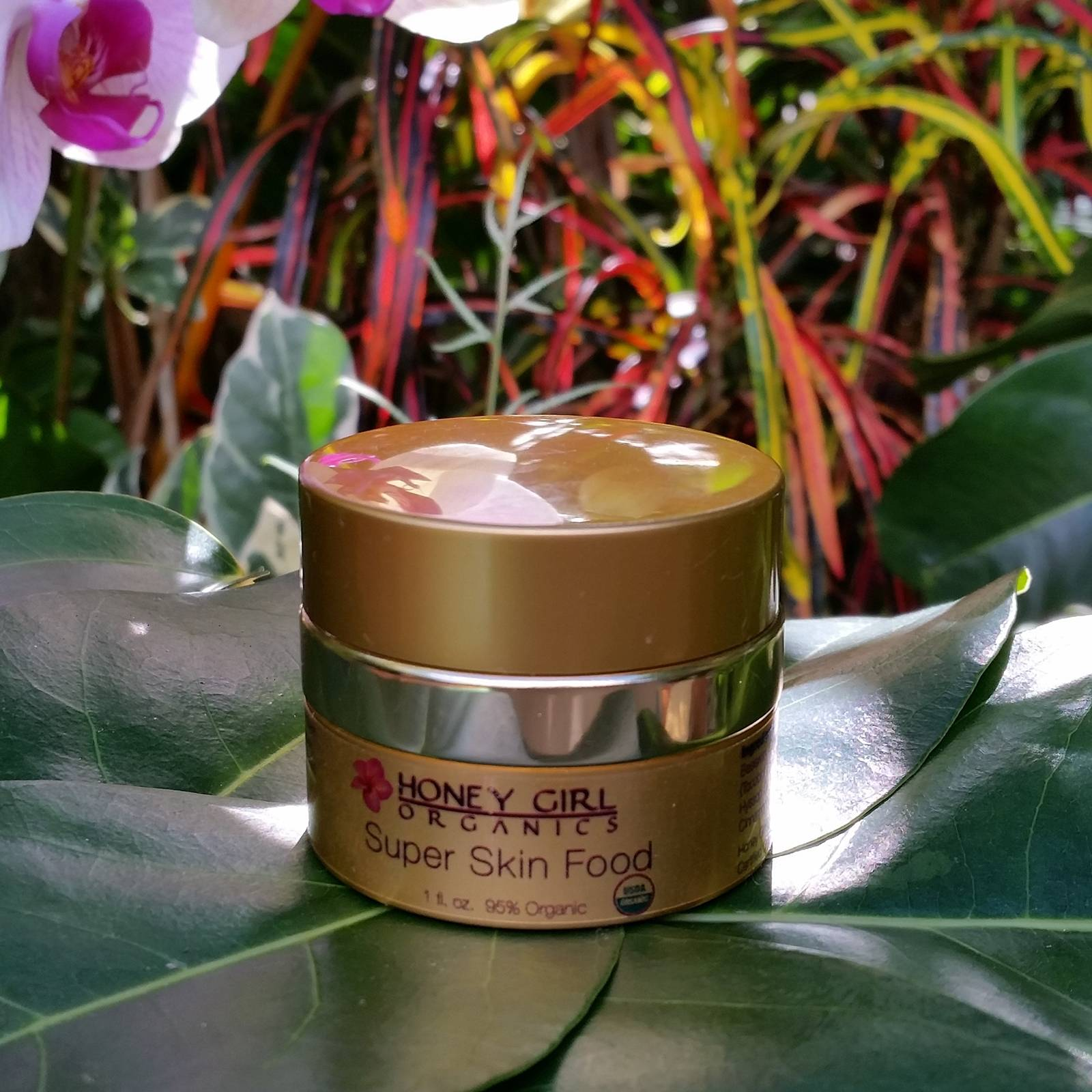 Honey Girl Organics Super Skin Food - $32.49 - This Non-GMO and gluten-Free, nourishing cream is food for the skin. The rich formula repairs distressed and problem skin with royal jelly and Vitamin E to deeply penetrate, heal and regenerate.(Photo: Courtesy of www.honeygirlorganics.com)
