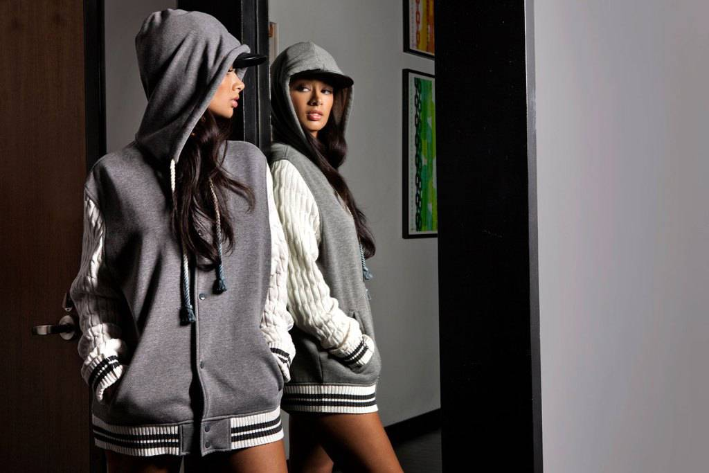 Work! - Rocawear needed a new face, so they picked Draya Michele. Since becoming a reality TV star, Draya has made sure to get her money three ways and is working as a model, an entreprenuer and mom among other things. Congrats Draya and keep up the amazing work!   (Photo: Courtesy of Rocawear)